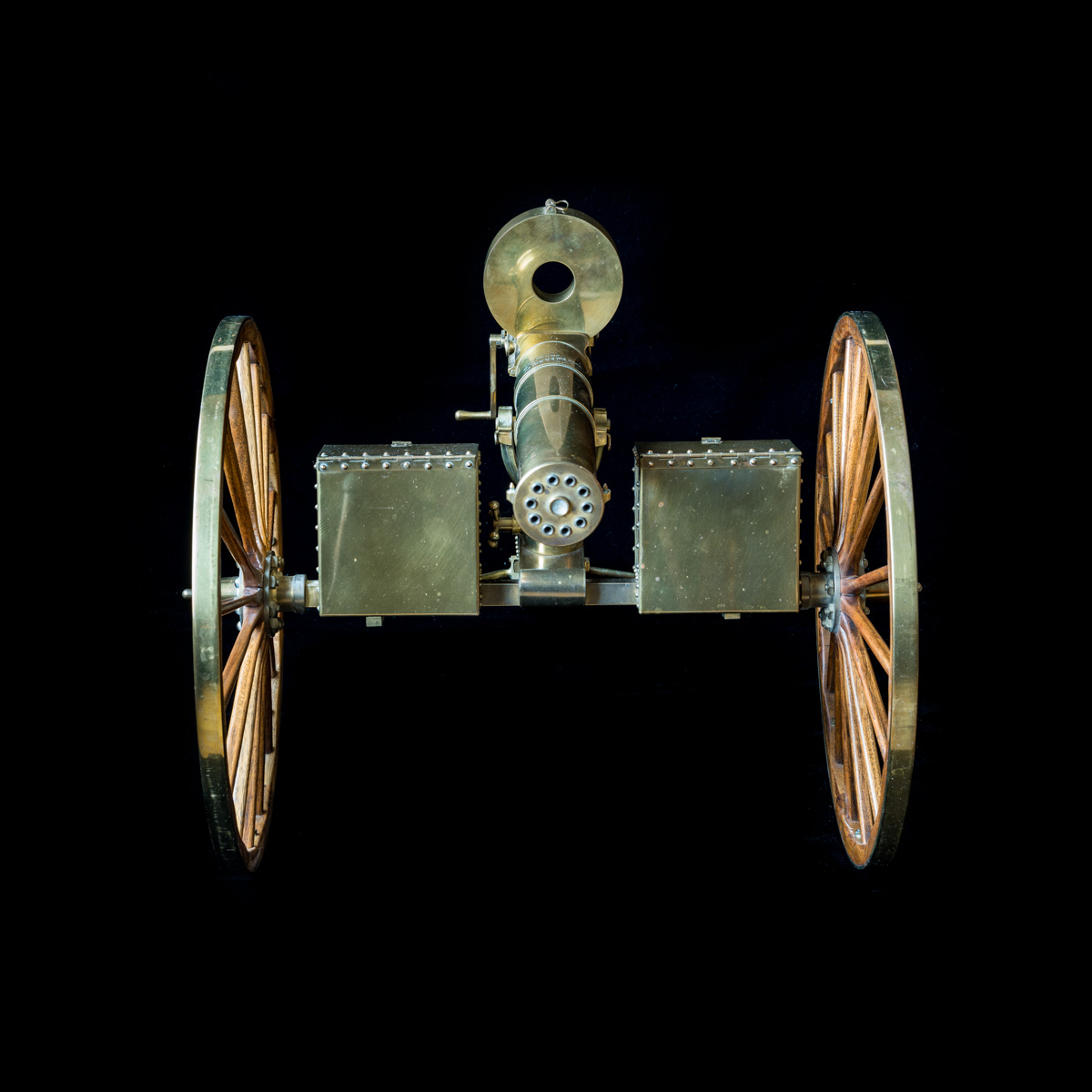 Gatling Gun 1-3rd size model-8