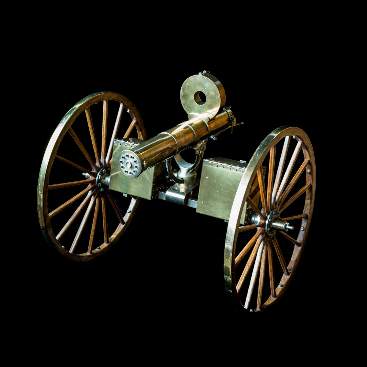 Gatling Gun 1-3rd size model-9
