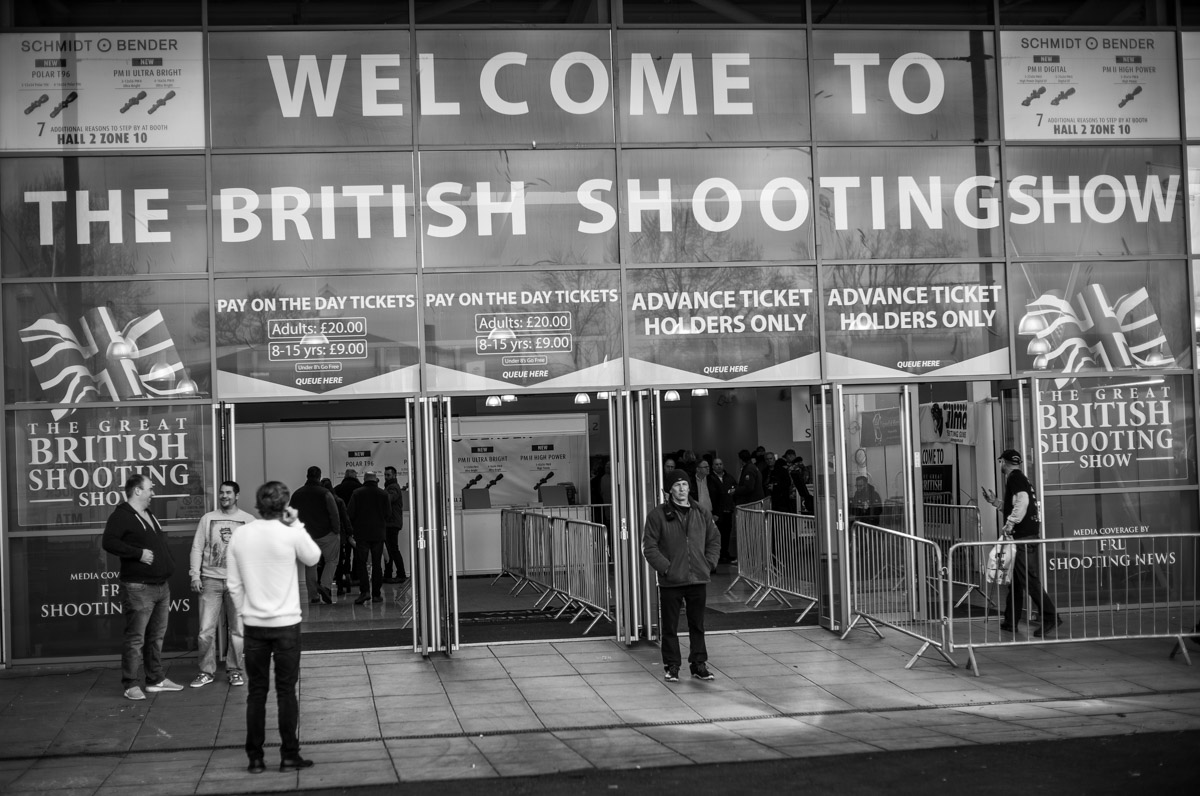 The British Shooting Show. Stoneleigh Park 2016.