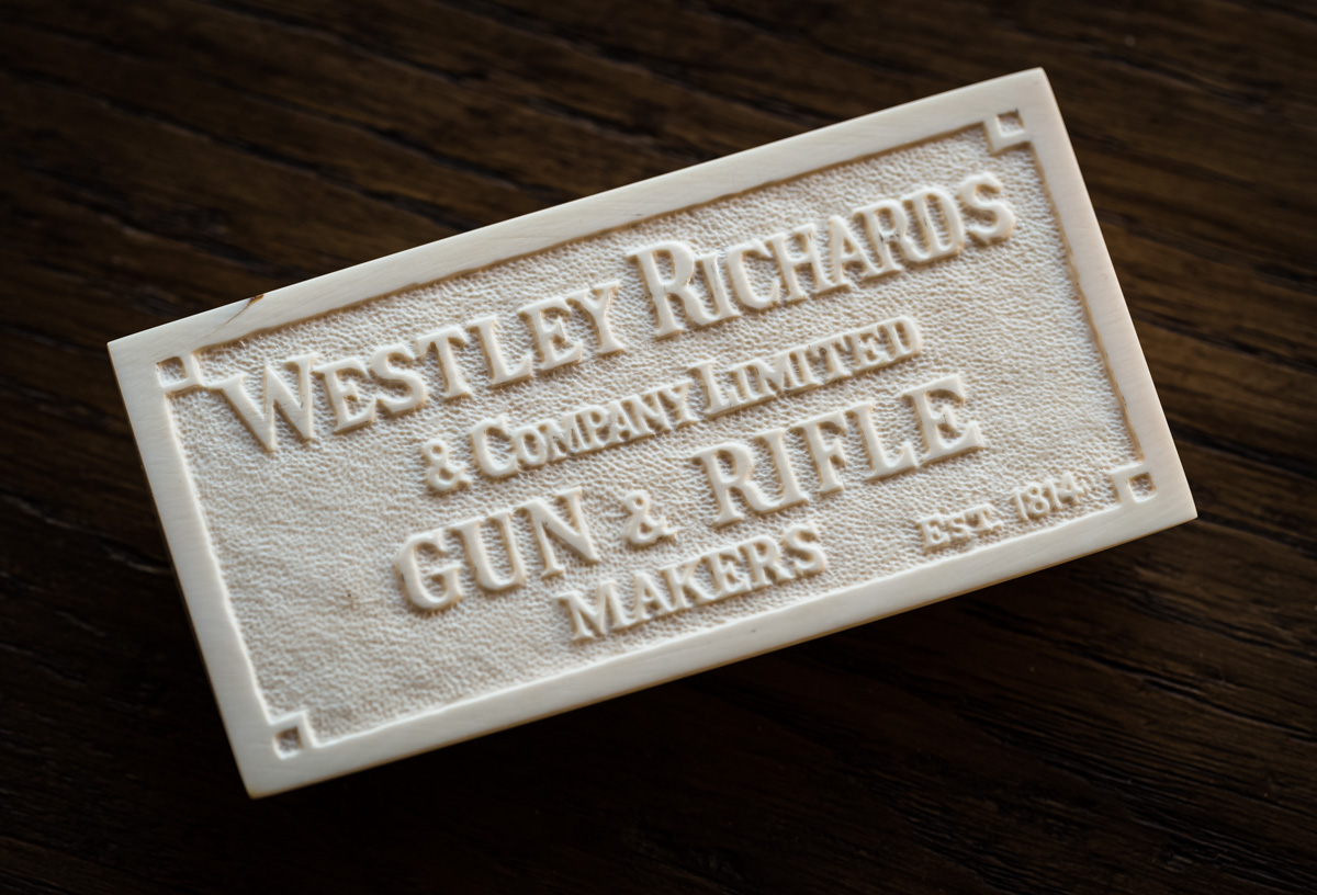 Westley Richards & Co. Ltd. Established 1814.