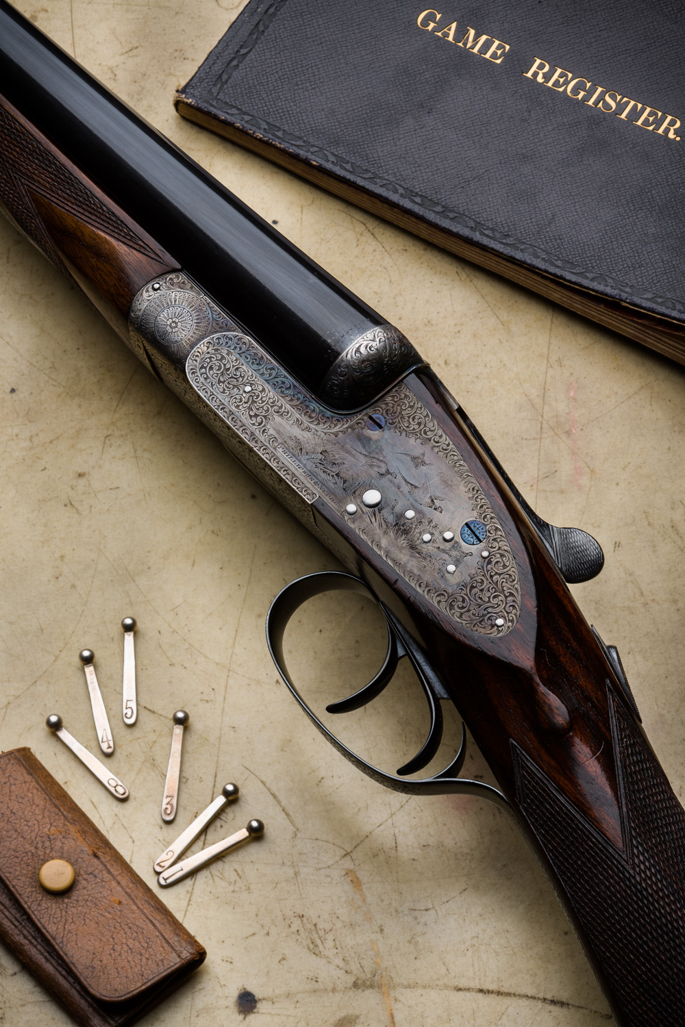 A Very Nice Sidelock and a Very Nice Boxlock. 2 Used Game Guns at Westley Richards.