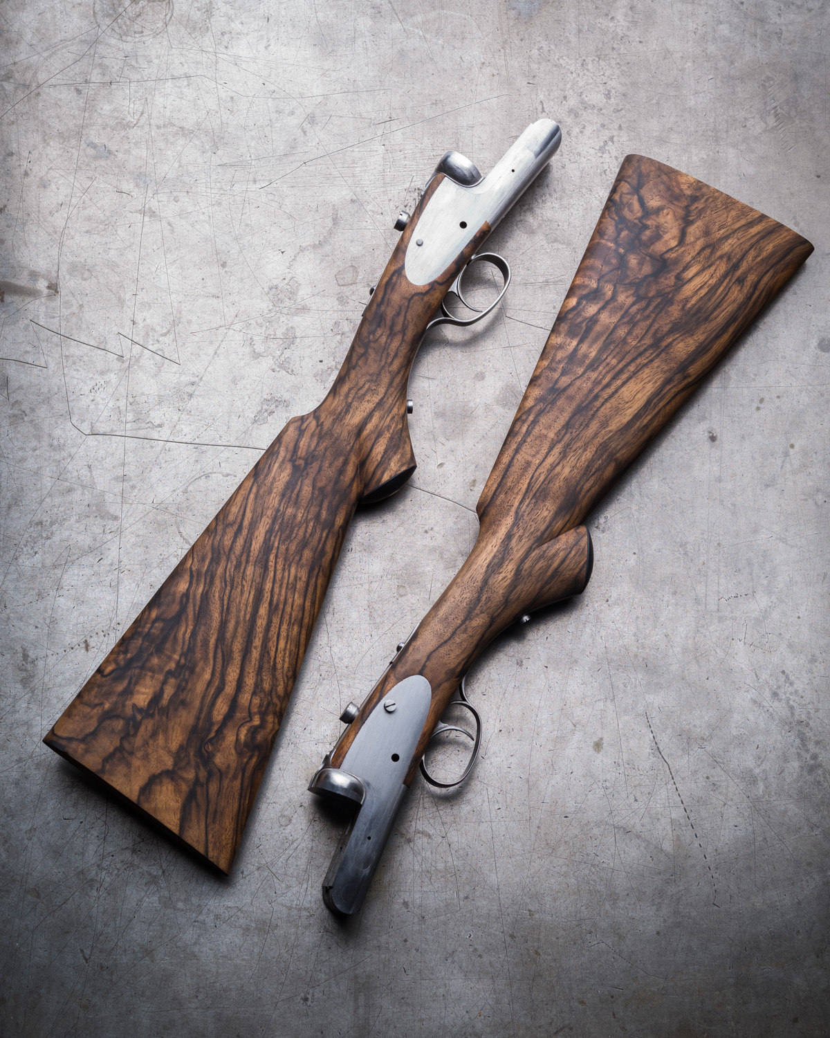 A Pair of Sidelock Westley Richards just our of stocking shop.