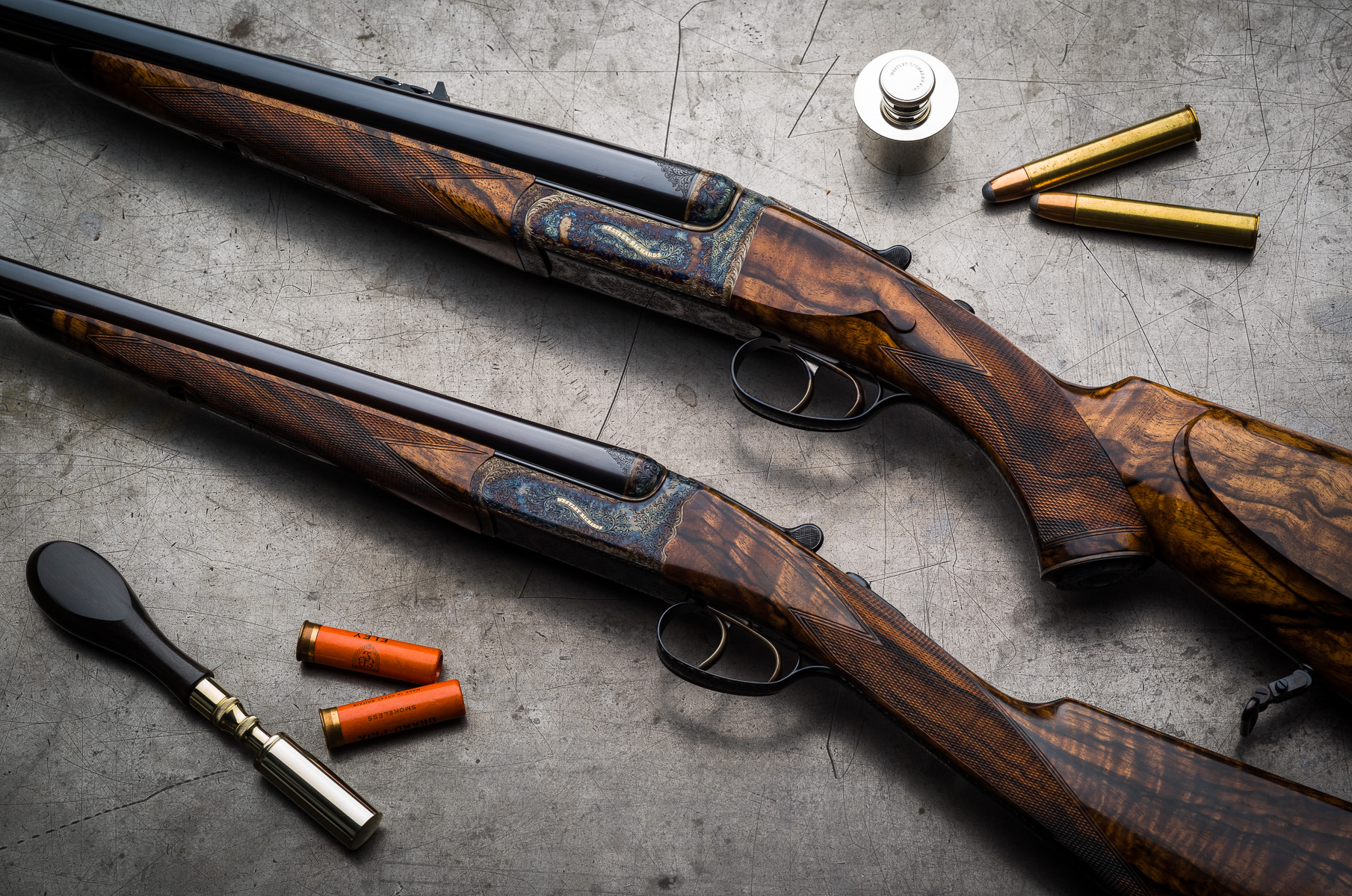 3 Happy Customers and 4 New Westley Richards Completed.