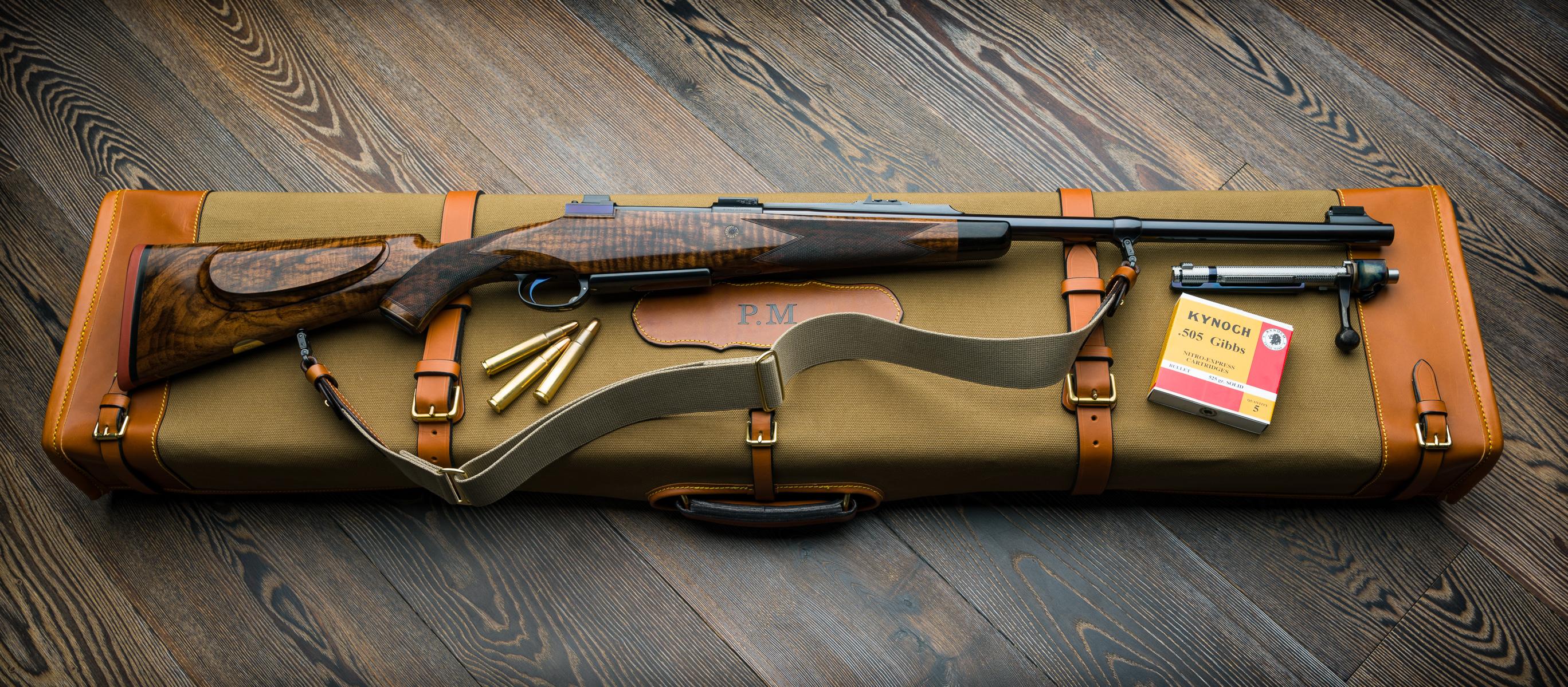 Westley Richards .505 Gibbs Safari Rifle.