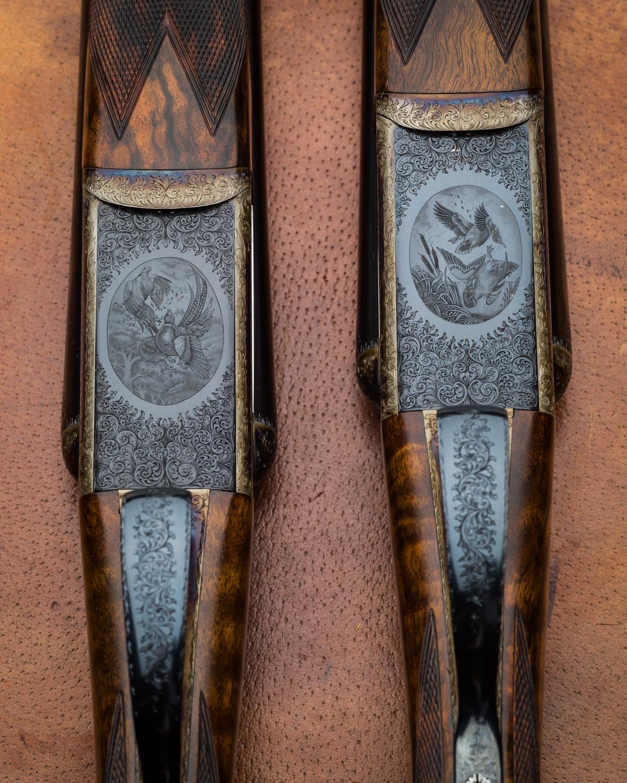 Pair Westley Richards 12g Droplocks (4 of 4)