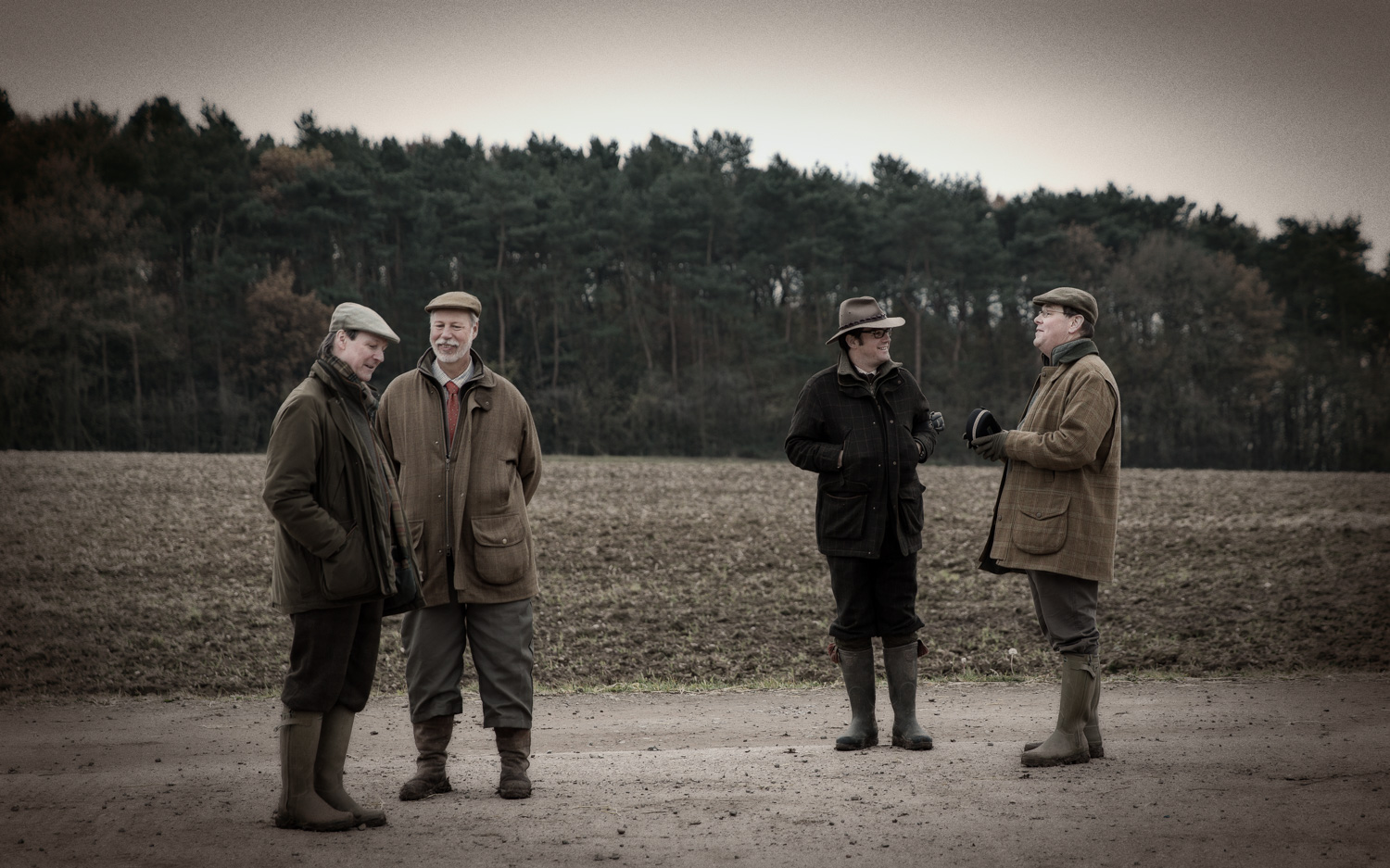 The Park. A Traditional Day of Shooting in England by Tim Wilkes.