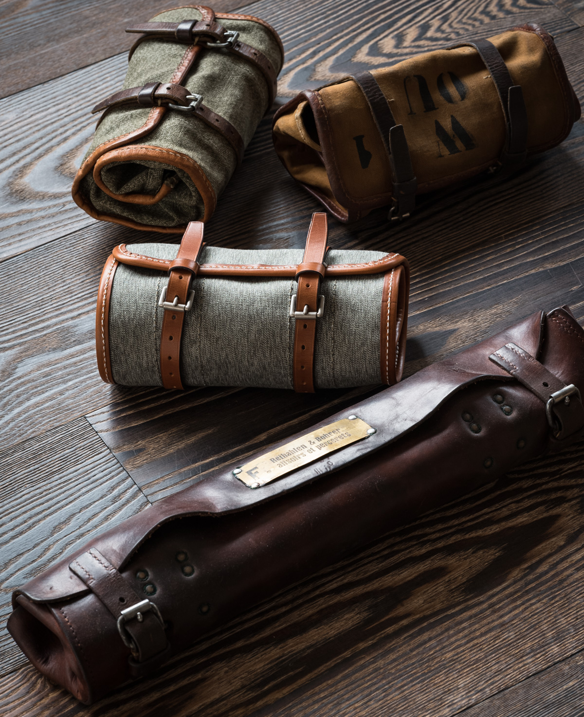 Some New Products Emerge from the Westley Richards Leather Shop.