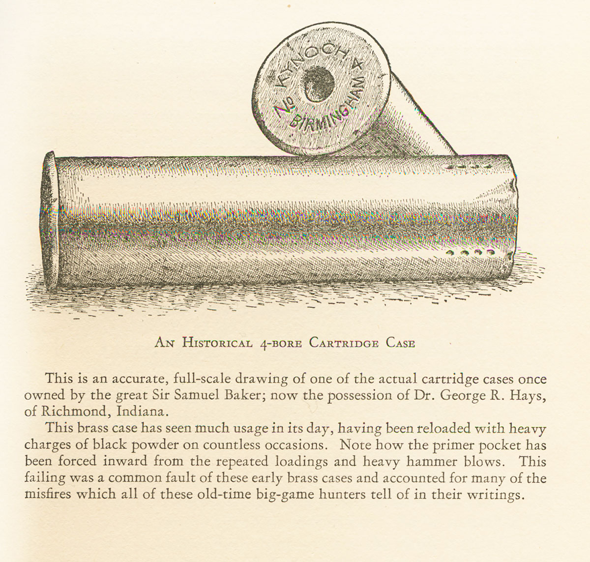 4 Bore From African Rifles & Cartridges
