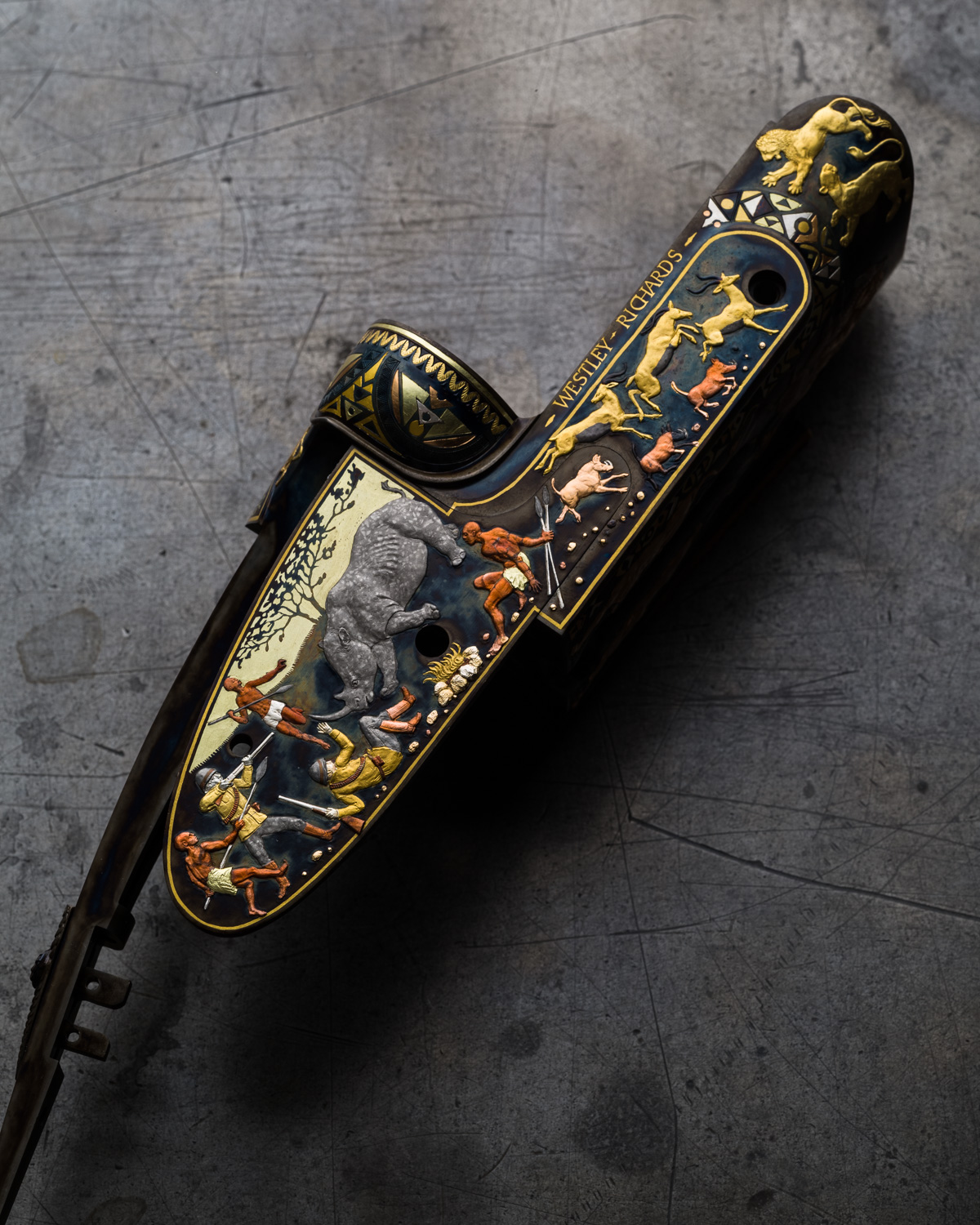 The Westley Richards Africa Rifle