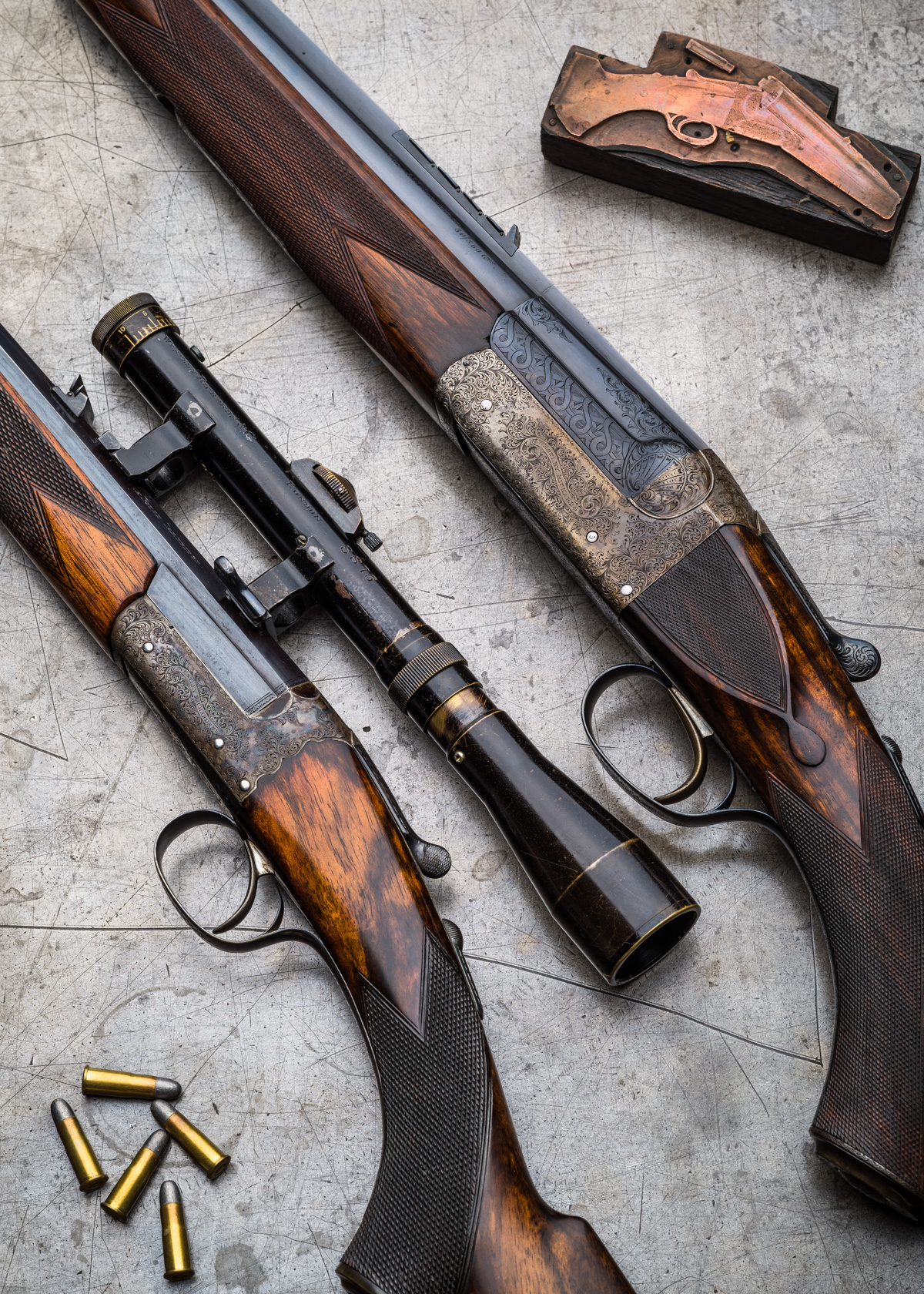 Westley Richards .22LR and .360 Single Shot. (1 of 1)-2