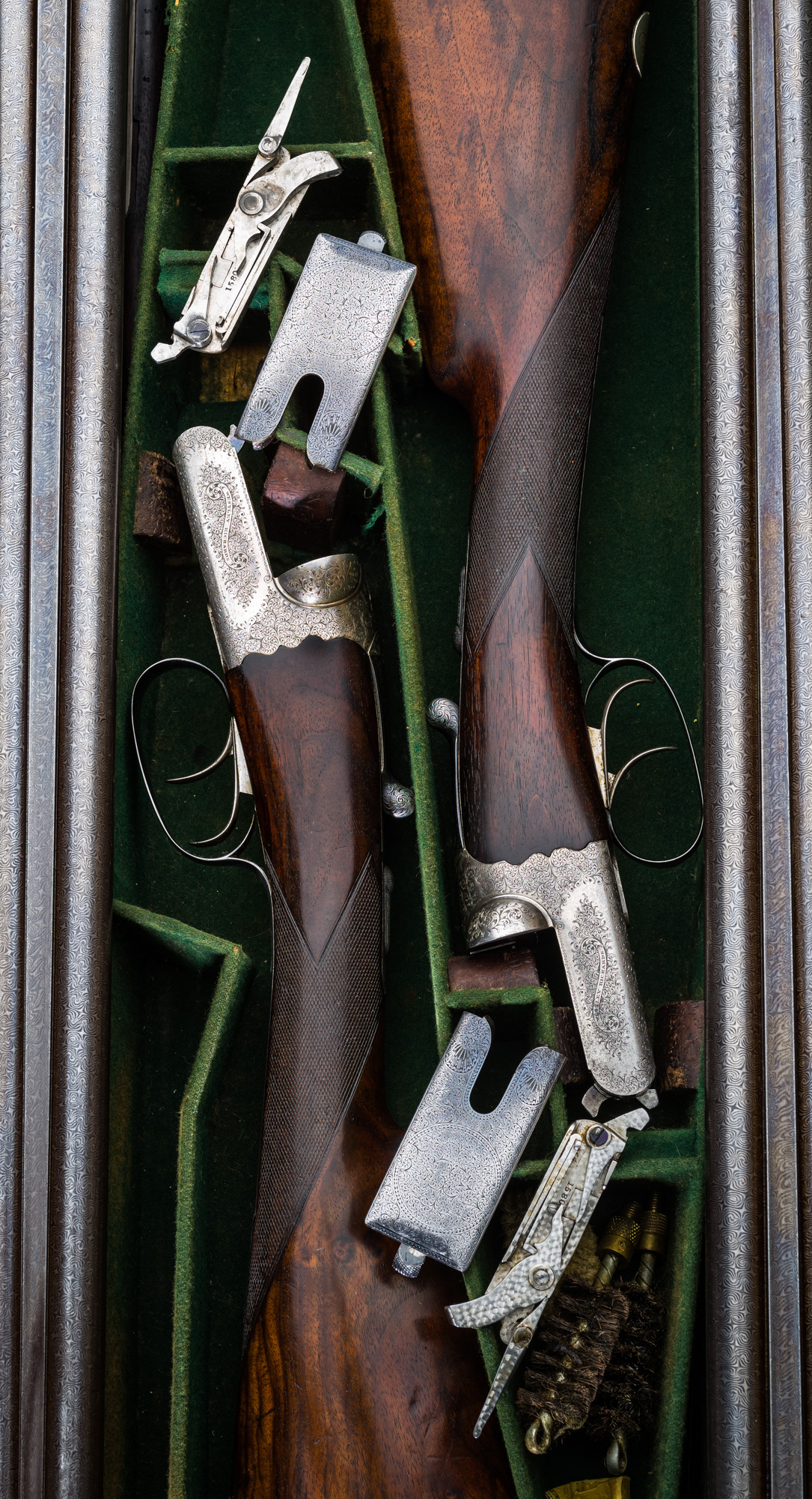 Pair of WR with Damascus Barrels