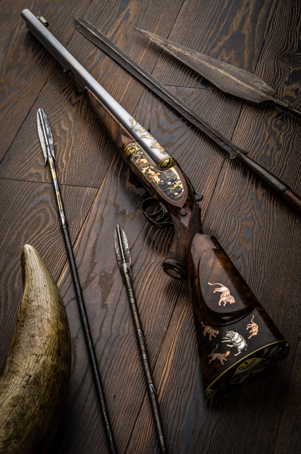 The Westley Richards 'Africa Rifle' - Finishing Continues with the First Assembly and the First Photo with The India Rifle.