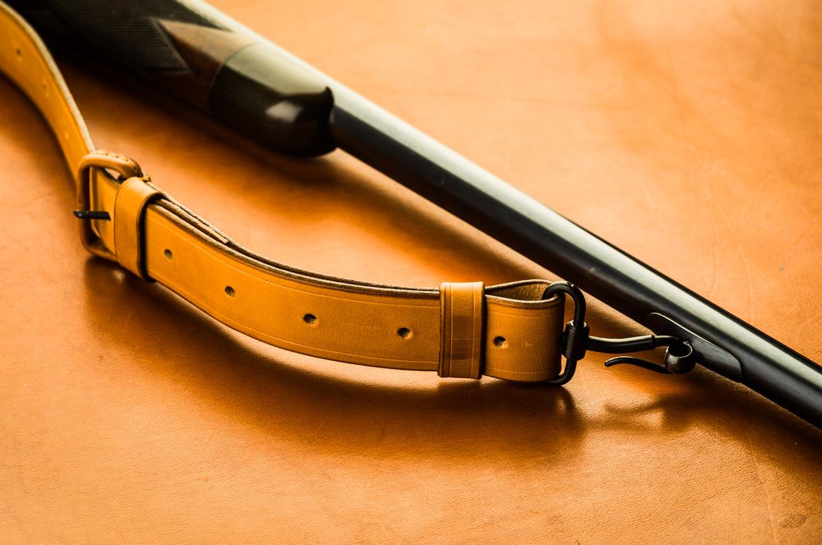 Vintage rifle sling