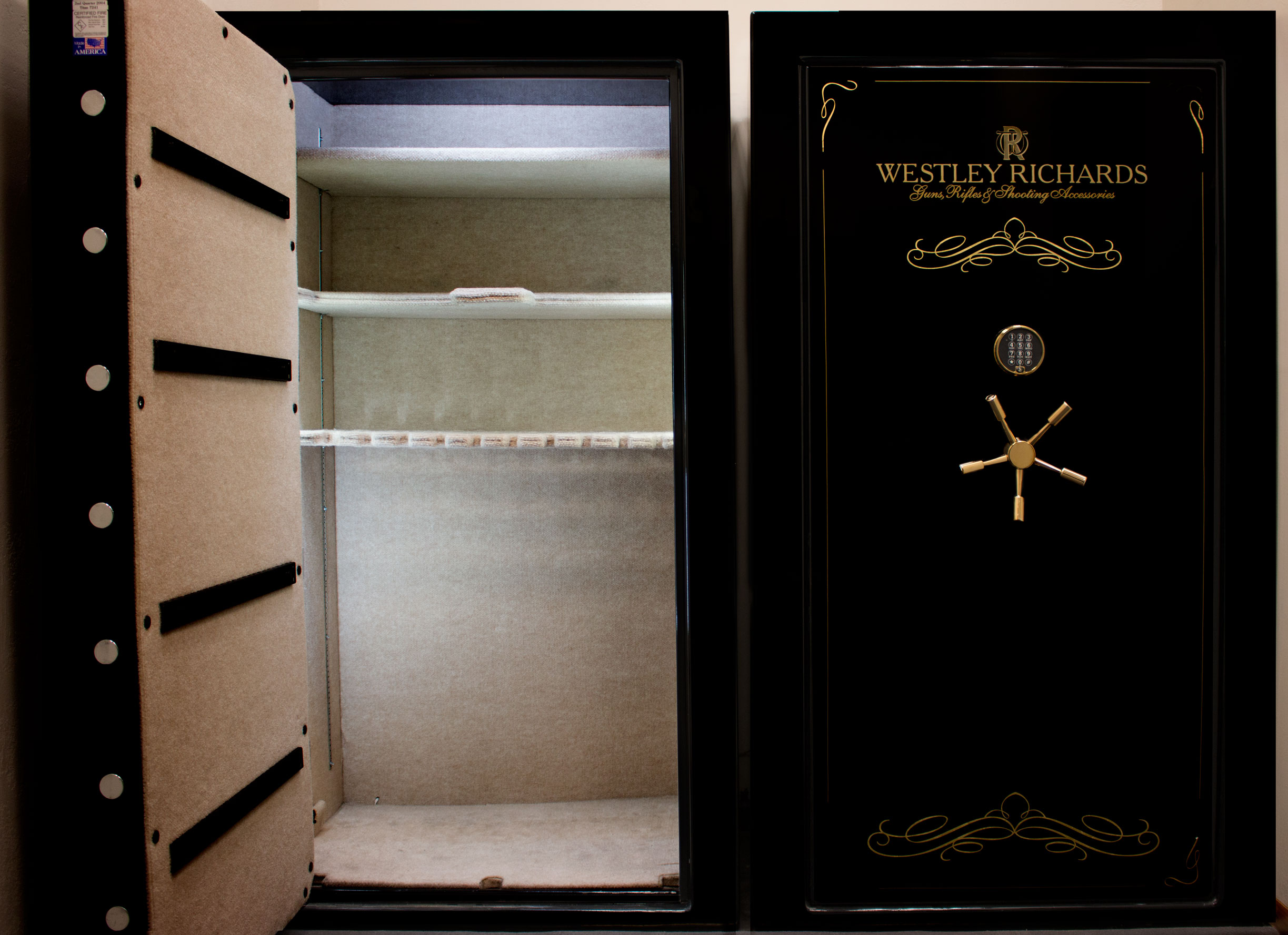 4 'Used' Westley Richards Fort Knox Titan Model 7241 Safes. - For sale!