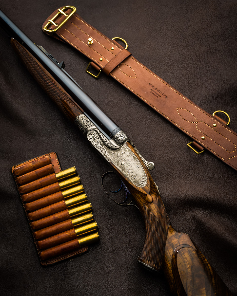 For the Big Game Hunter, A Great Value Sidelock .470 Double Rifle.