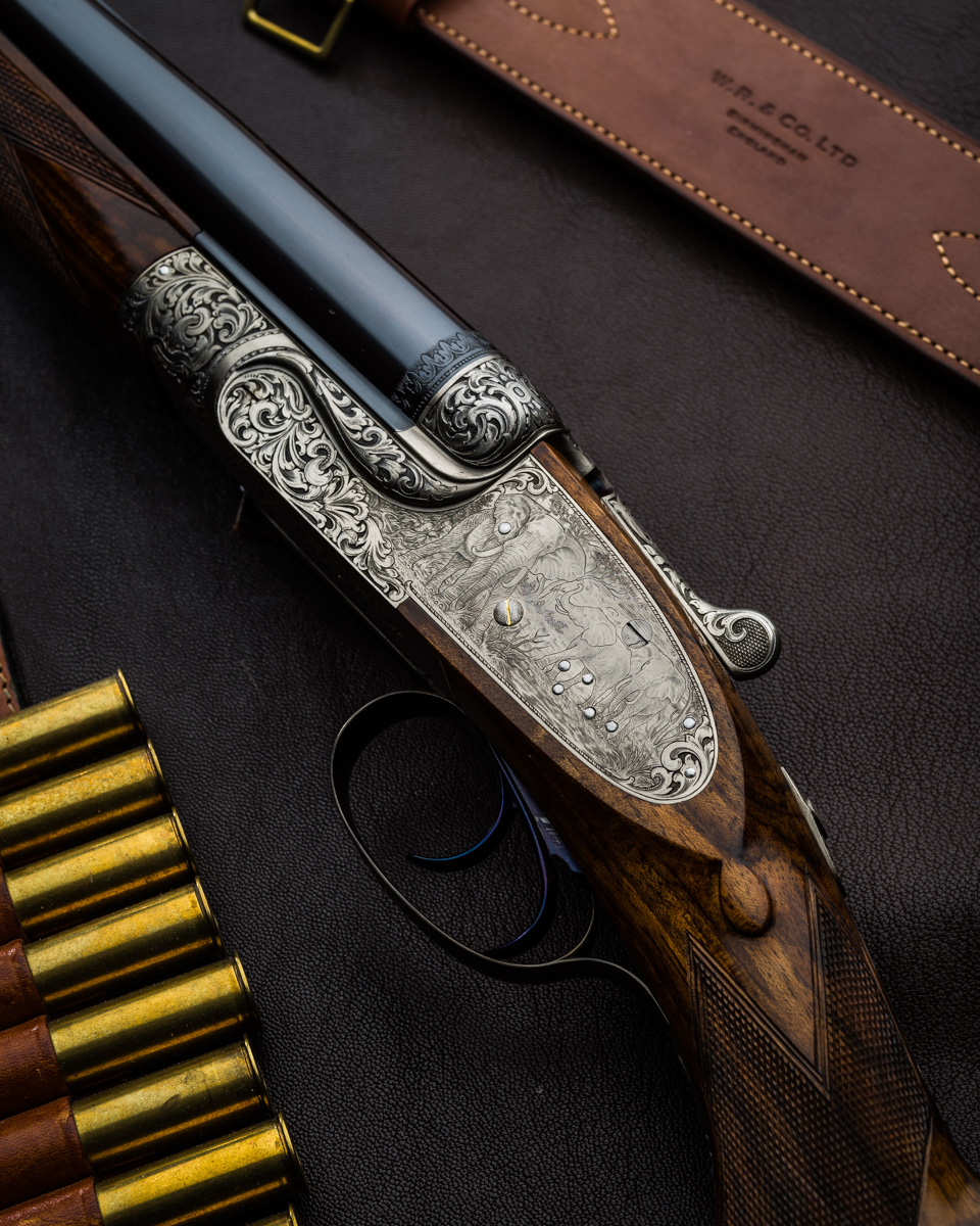 470 Sidelock Double Rifle
