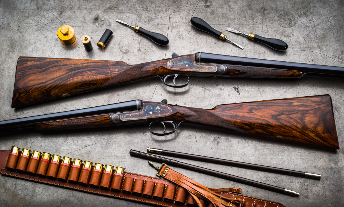 Buying Used Best Guns. A Recent Pair of Boss & Co. 12g Assisted Opening Sidelock Game Guns.