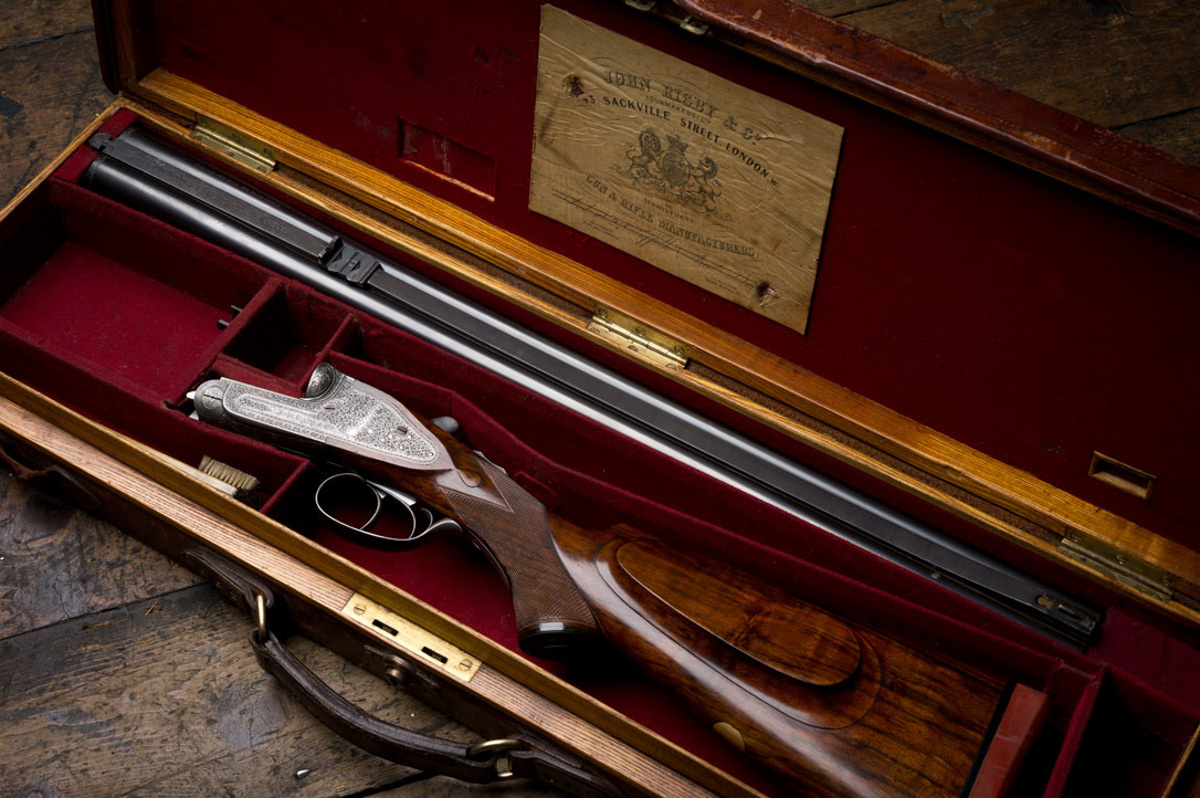 Finding a Good Vintage J. Rigby & Co .470 Sidelock Double Rifle.