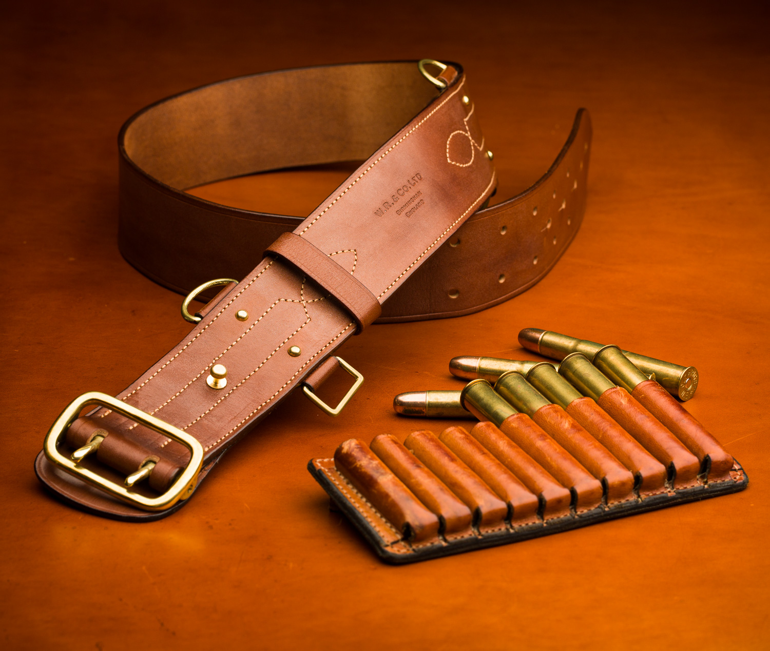 Utilising the Westley Richards Leather Shop's Bespoke Ability.