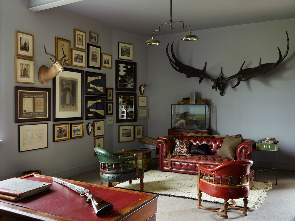 The Main office at Westley Richards