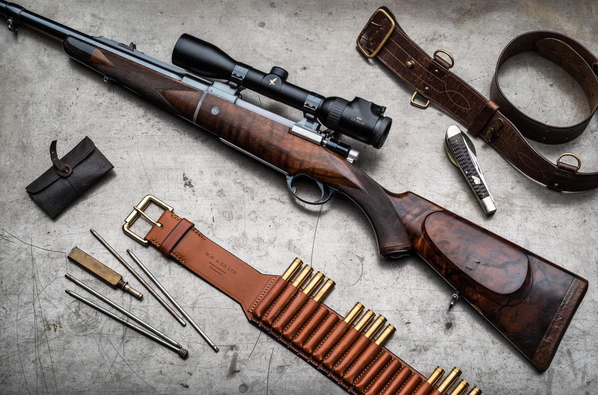 A Used, Cased, Westley Richards .375 Take Down Rifle - A Rare Opportunity to Acquire One of Our Recent  Take Down Model Rifles.