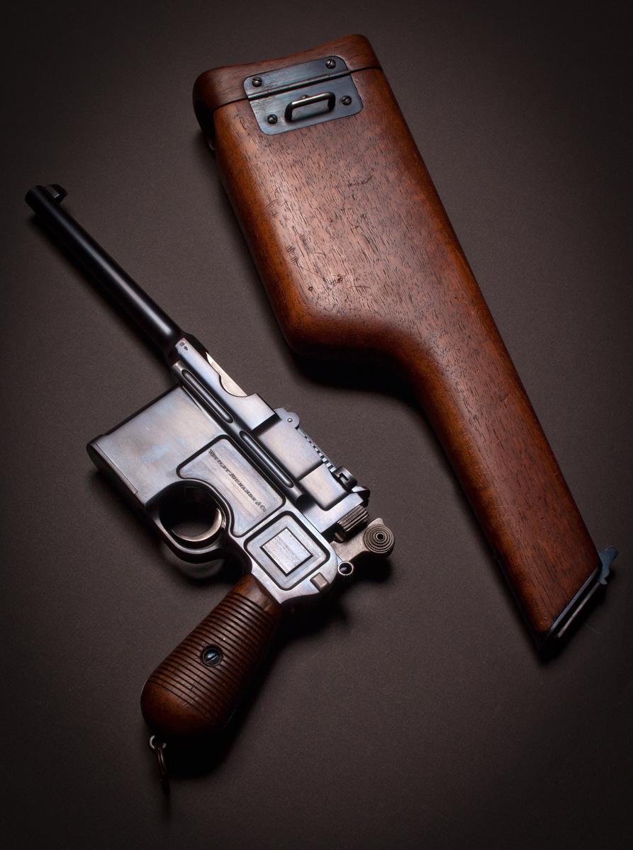 Westley Richards Mauser C96 'Broomhandle' Pistol