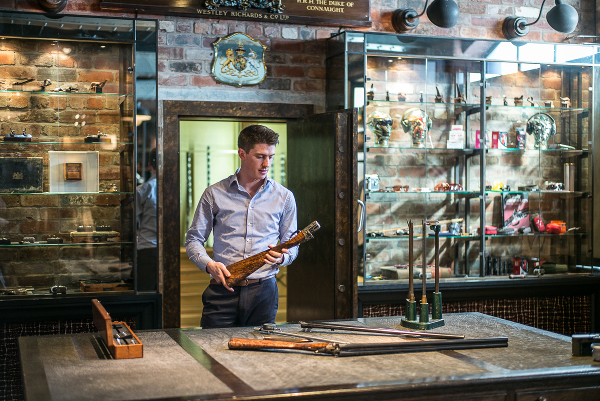 Ricky Bond - Gunroom Manager at Westley Richards & Co.