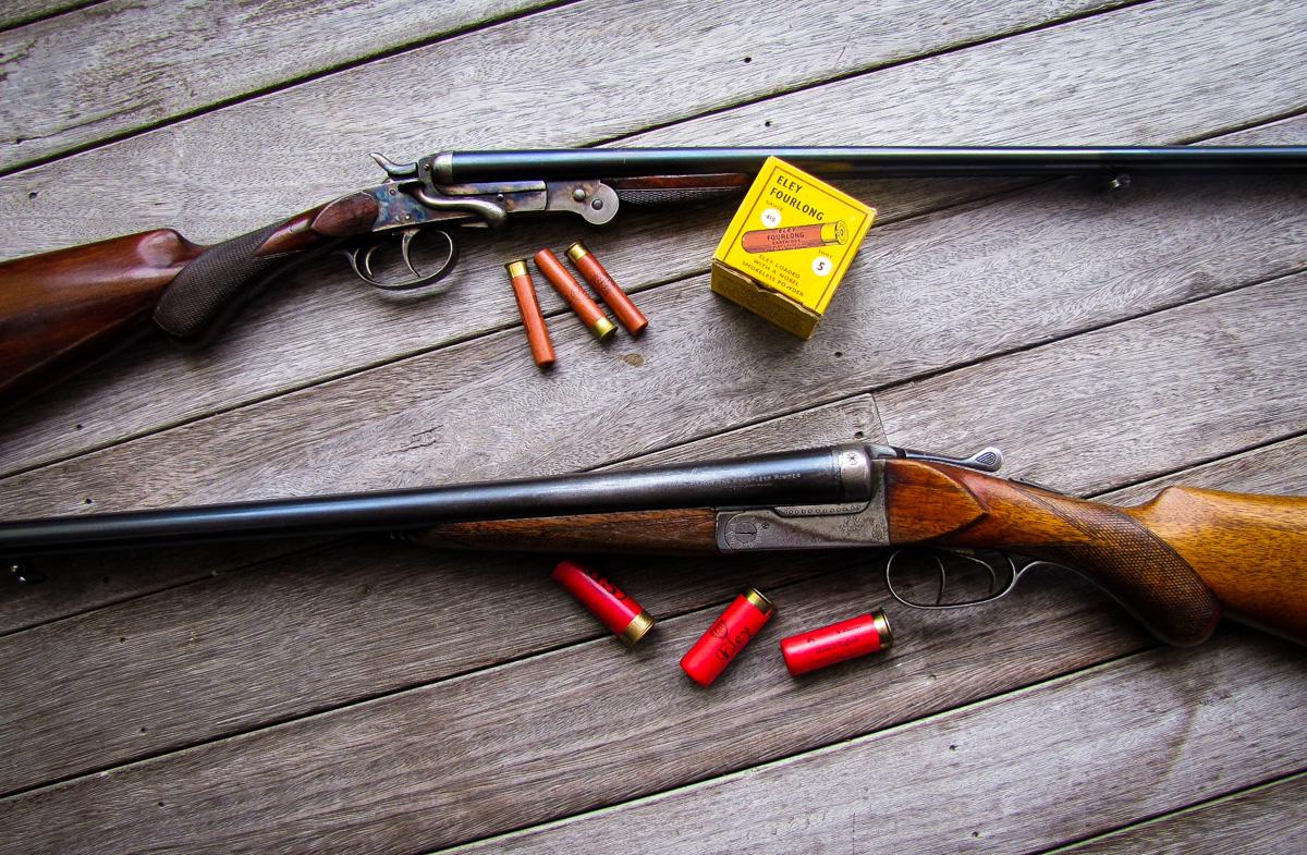 Belgian .410 and .22 Rifle. The Gunbearer .