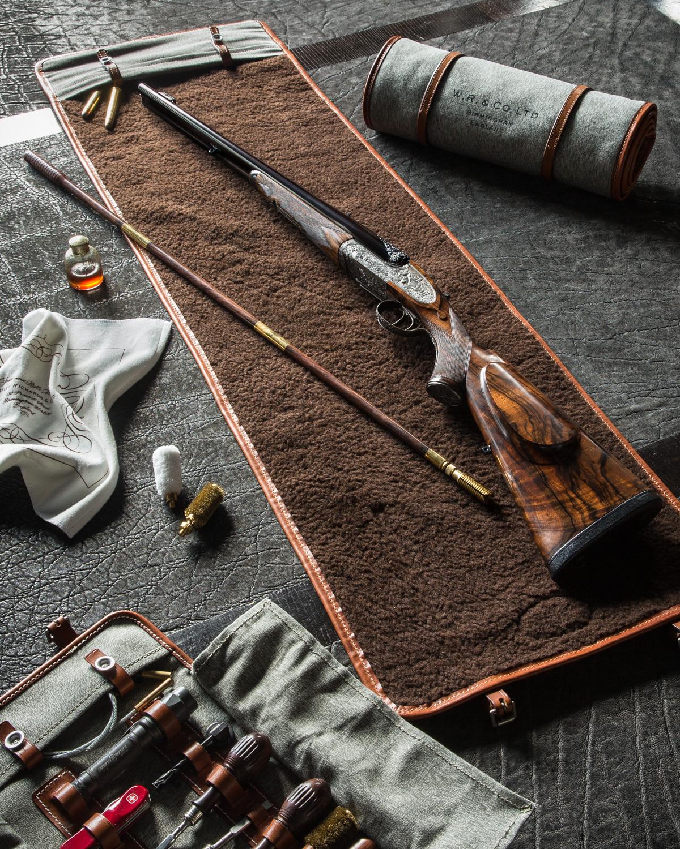 Westley Richards - Gun Cleaning Mat Roll.