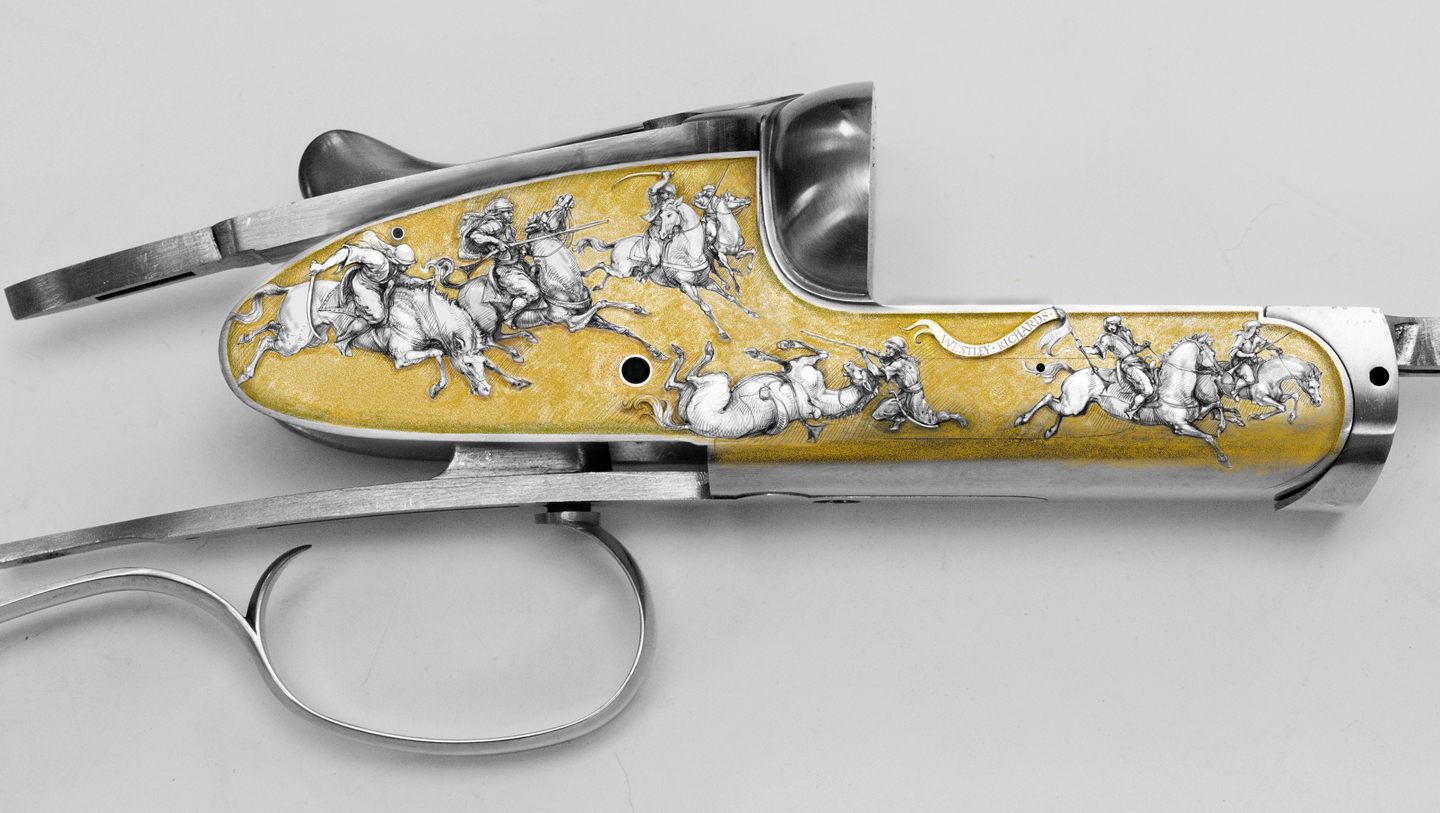 Westley Richards Exhibition Projects - The Next Paul Lantuch Engraved Guns in Design.