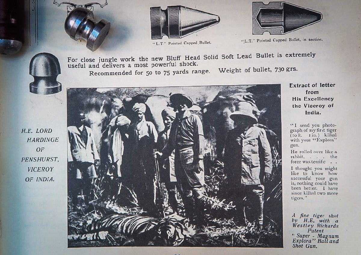 Explora Bullet Page from Catalogue