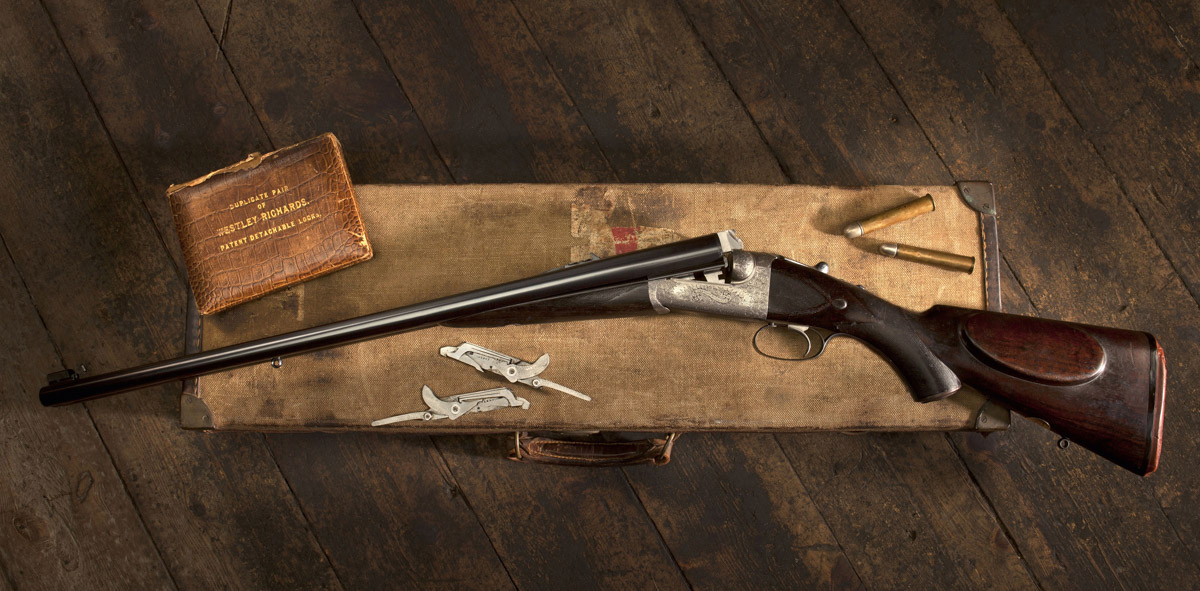 Three Famous Westley Richards .577's