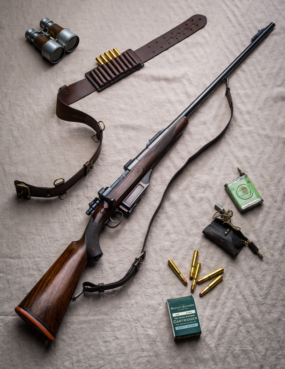 A Classic Westley Richards .425 Bolt Action Rifle.
