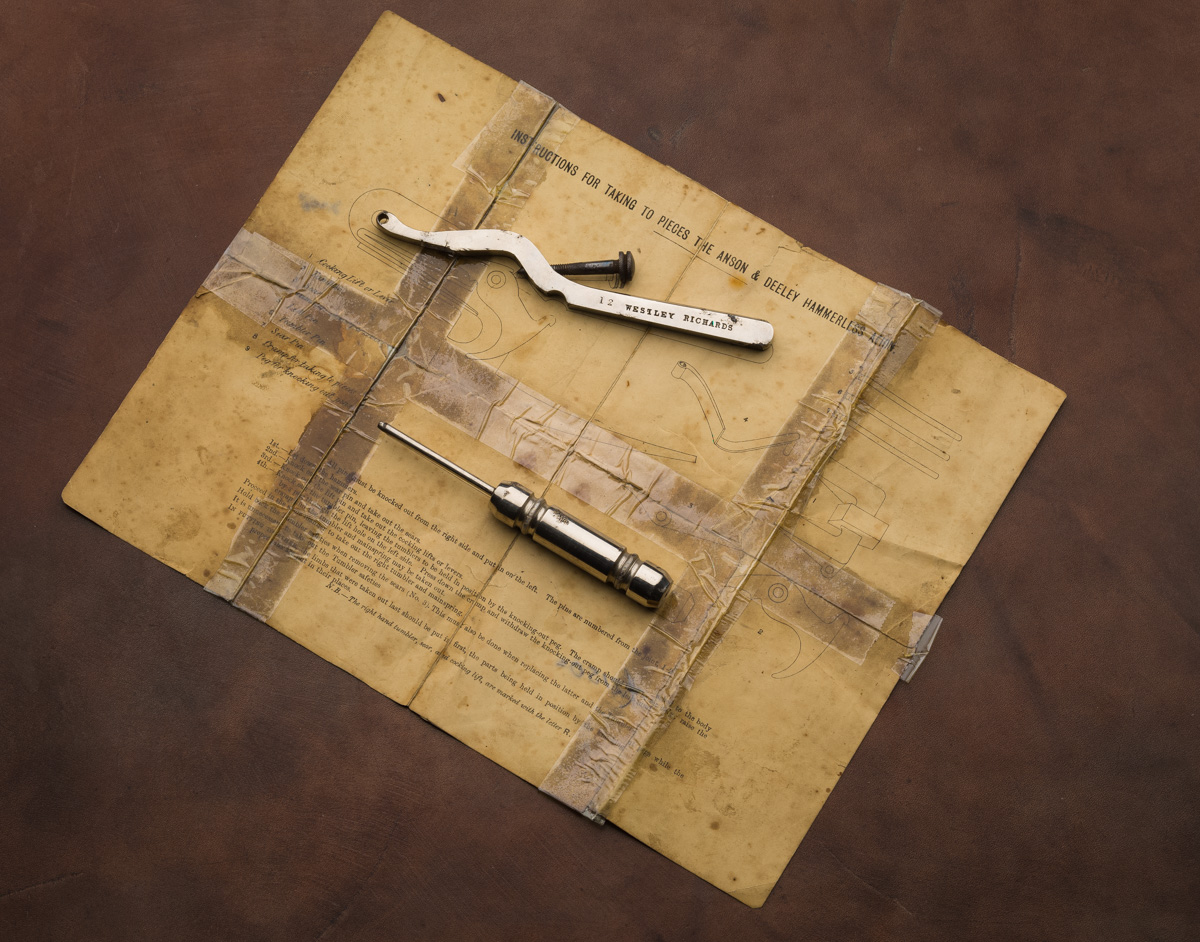 Anson Deeley Tools