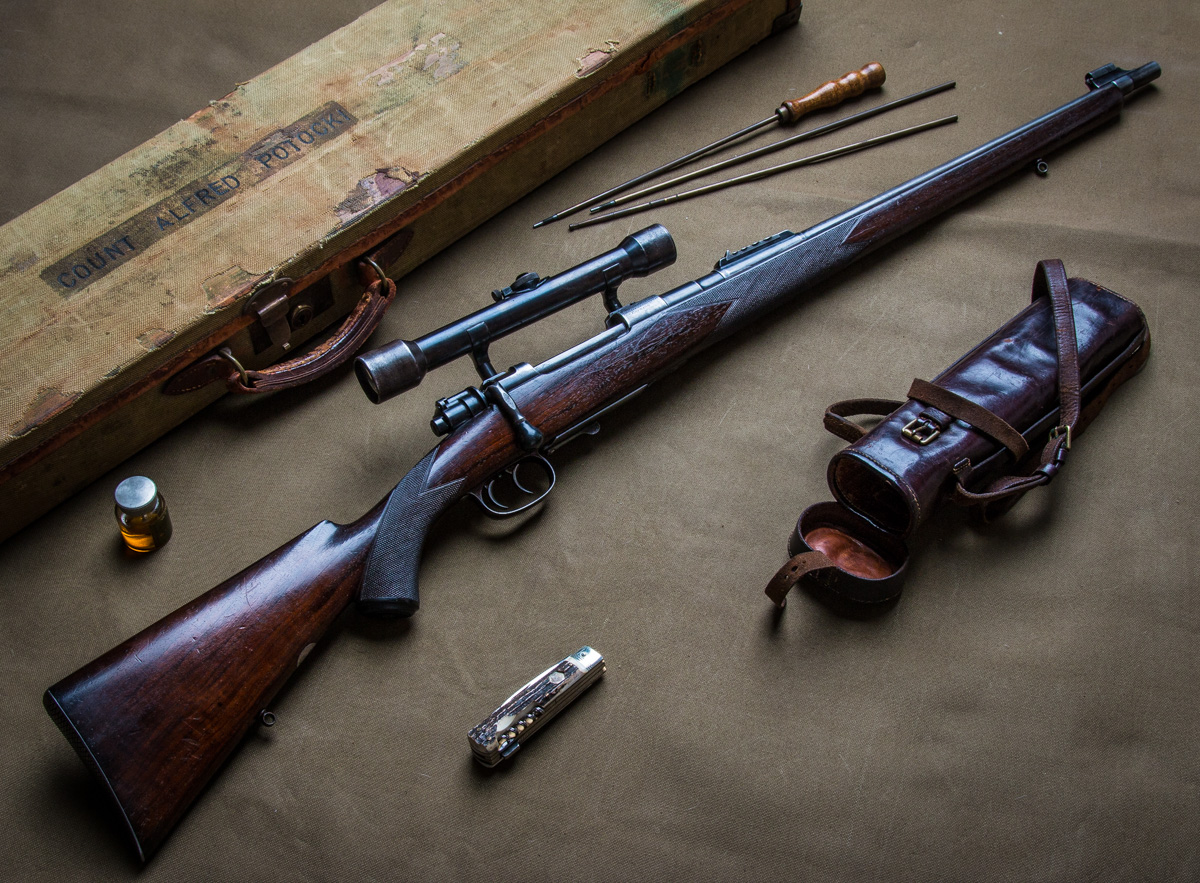 Count Alfred Potocki's Westley Richards .318 Carbine.