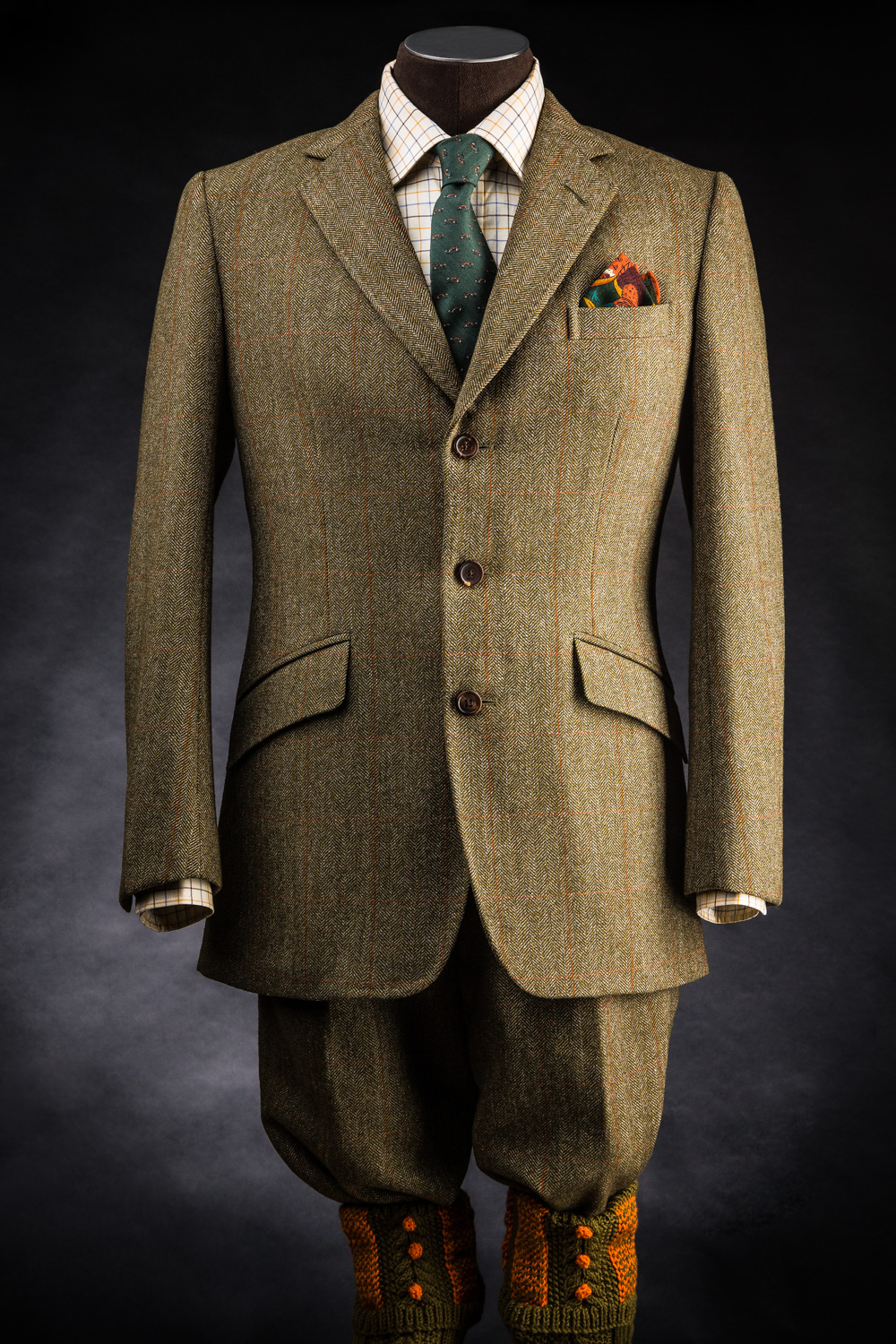 Westley Richards New Traditional Tweed Shooting Suit.
