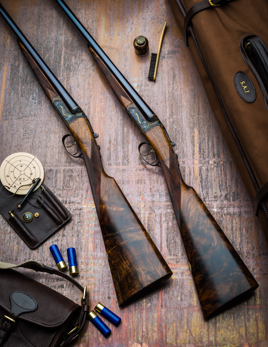 Westley Richards Pair of 16g