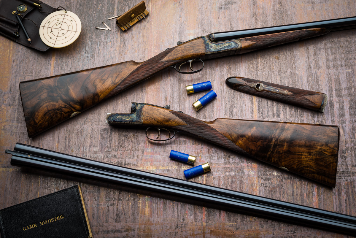 A Pair of Westley Richards 16g Hand Detachable Lock Game Guns.