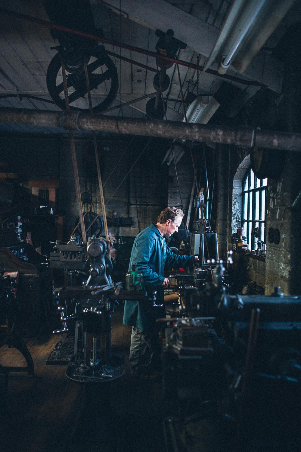 The Workshop of Hayden Hill