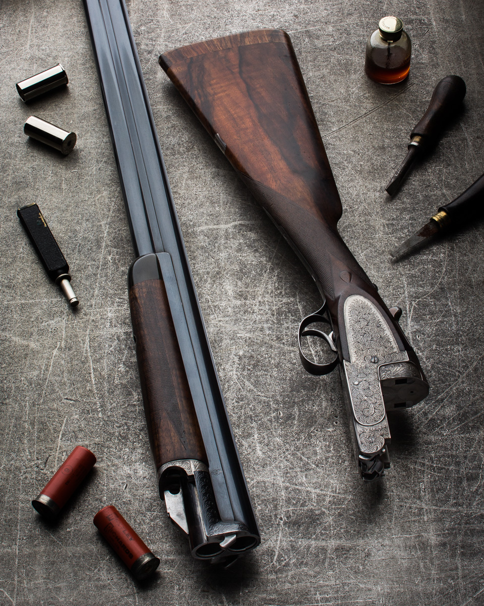 A Vintage Westley Richards 'Ovundo' 12g Shotgun.