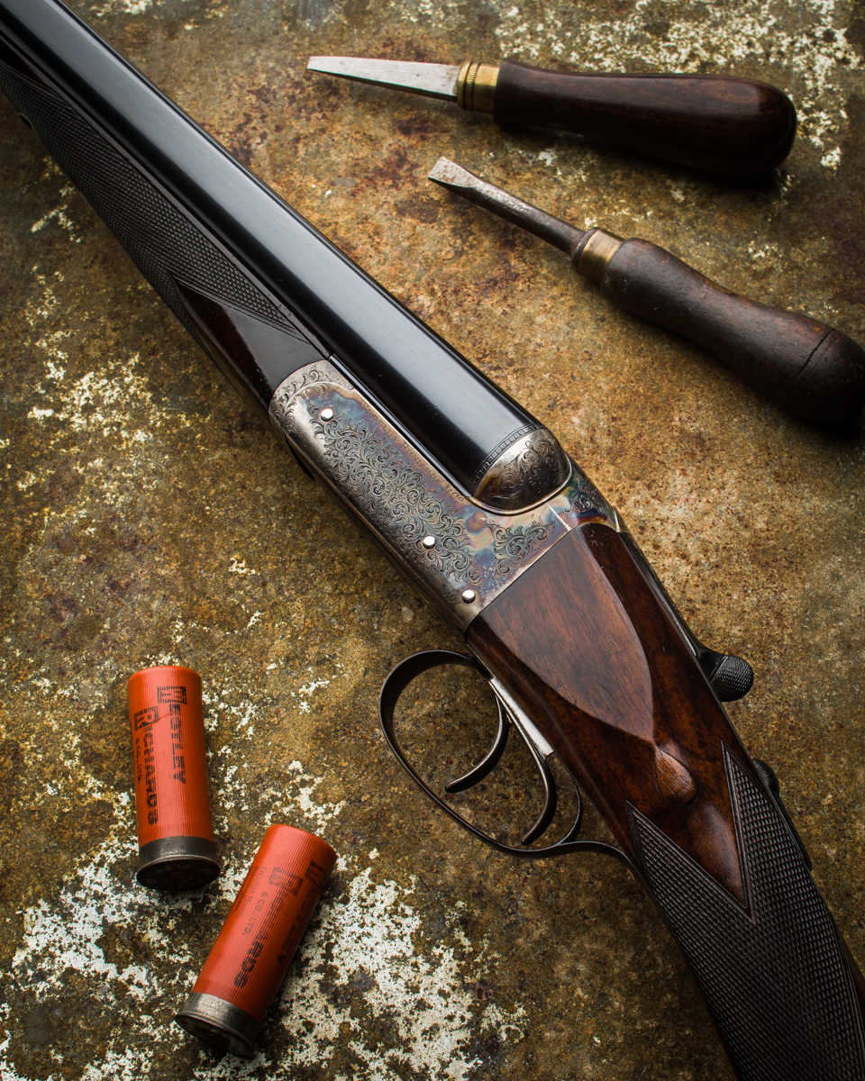 "A Used Westley Richards 12g, 28"" Heronshaw Model Game Gun."