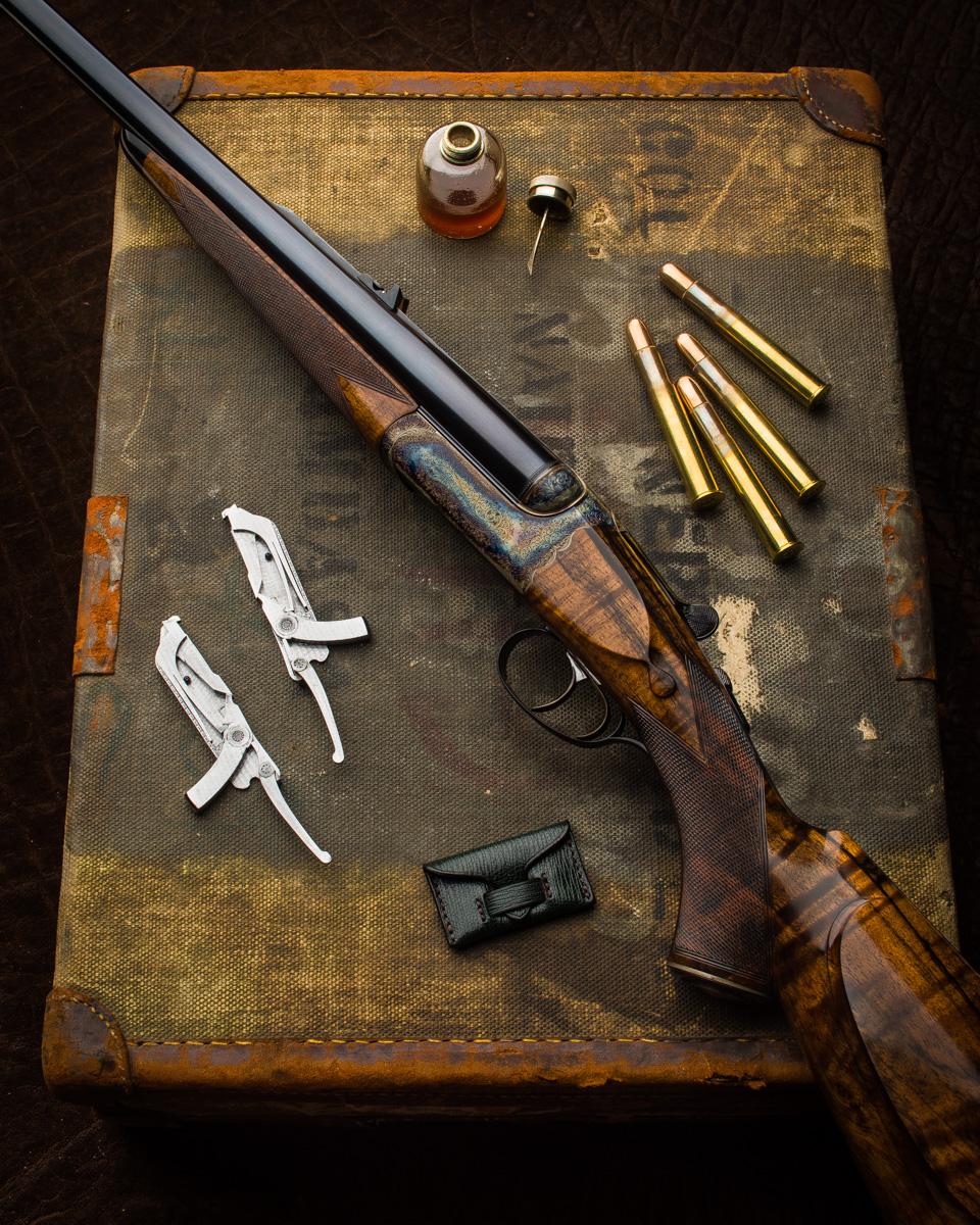 westley Richards, drop lock, rifle