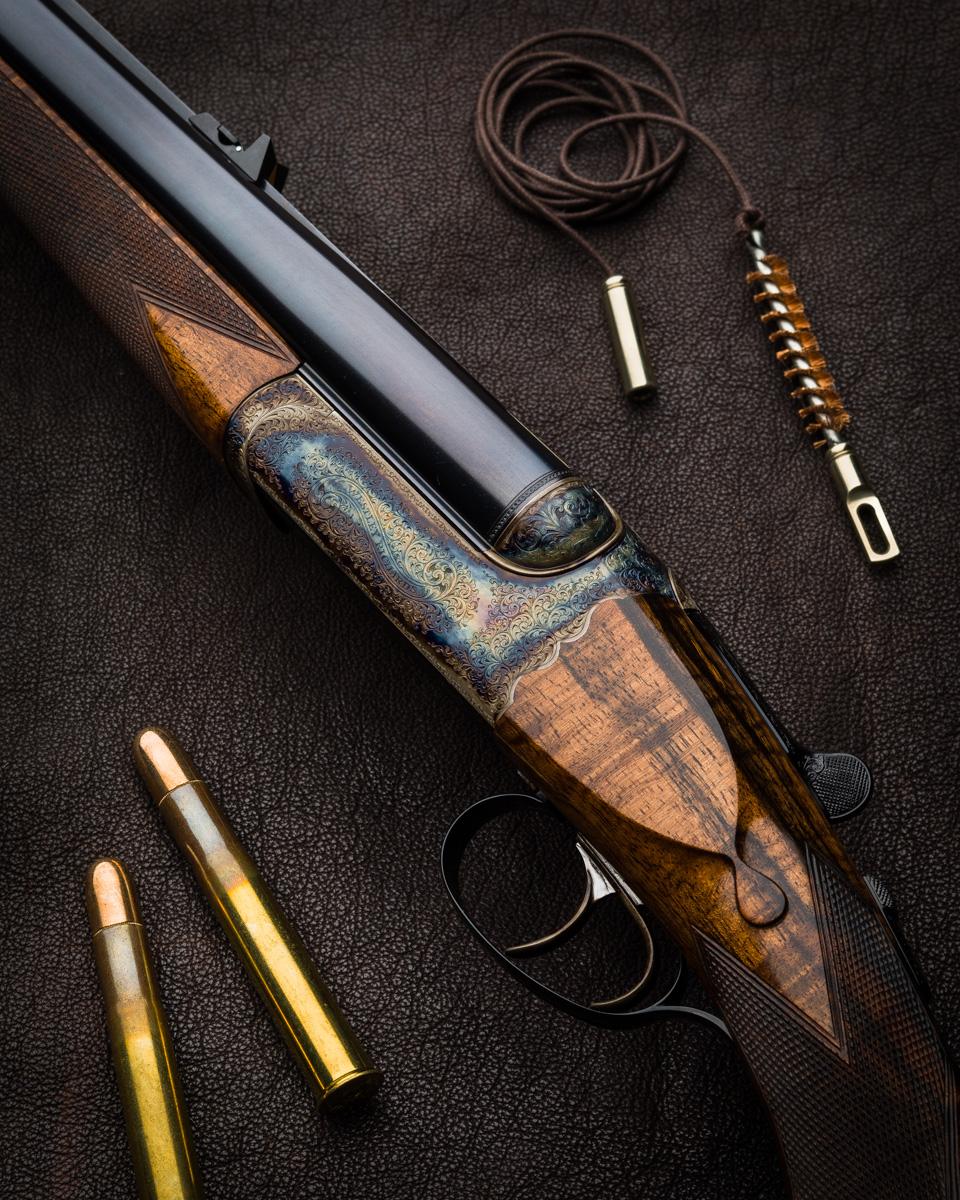 Westley Richards .470 Droplock Rifle.