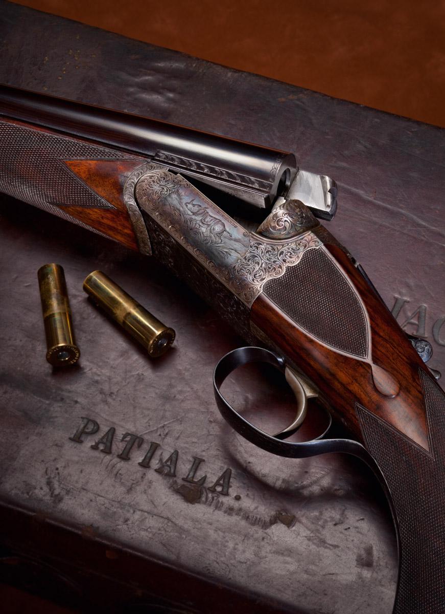 Westley Richards 470 droplock double rifle