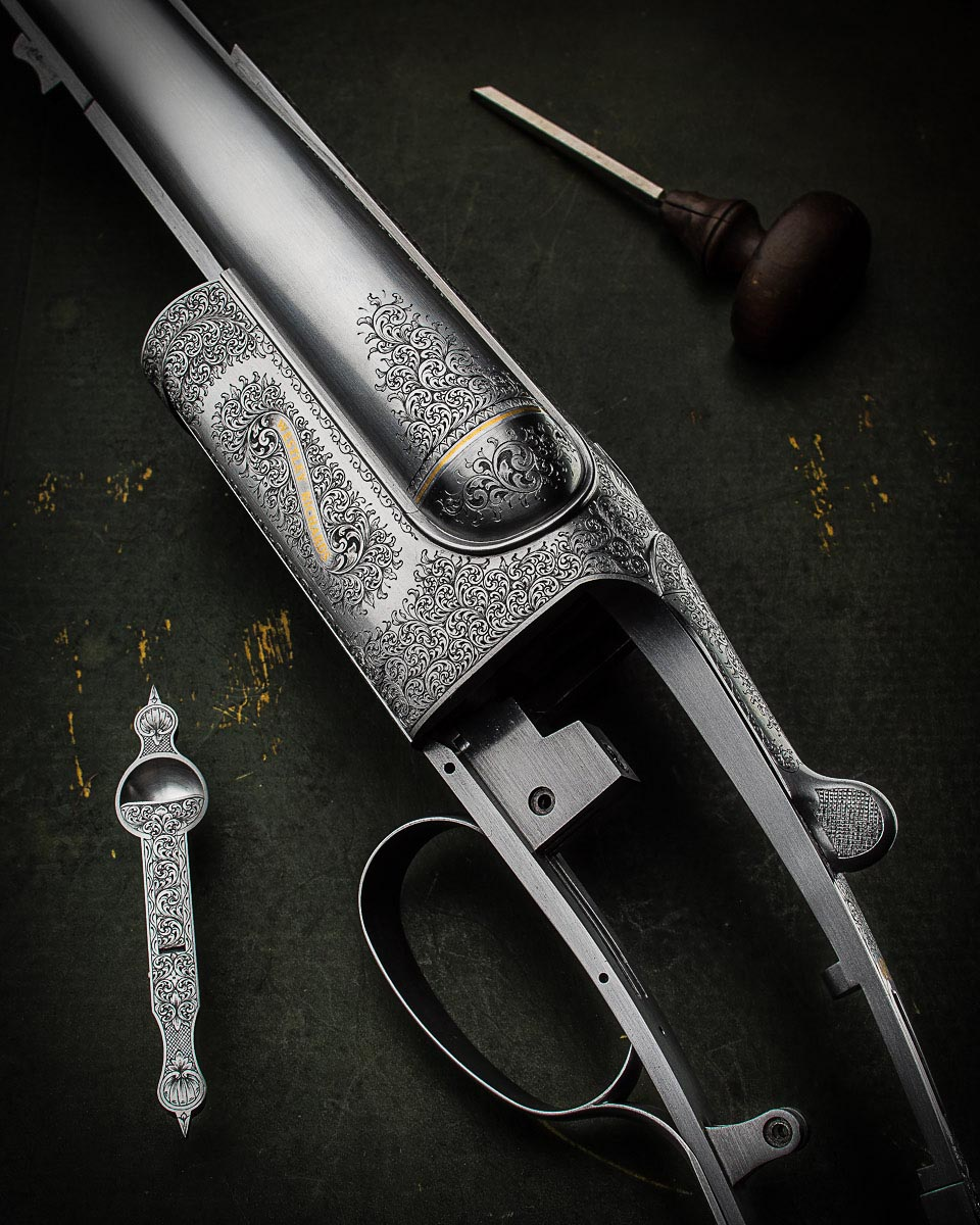 A Traditional Westley Richards .500 Double Rifle