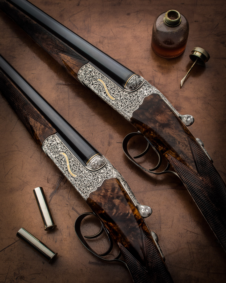 The 2nd Westley Richards .410 & 28g Pair Completed