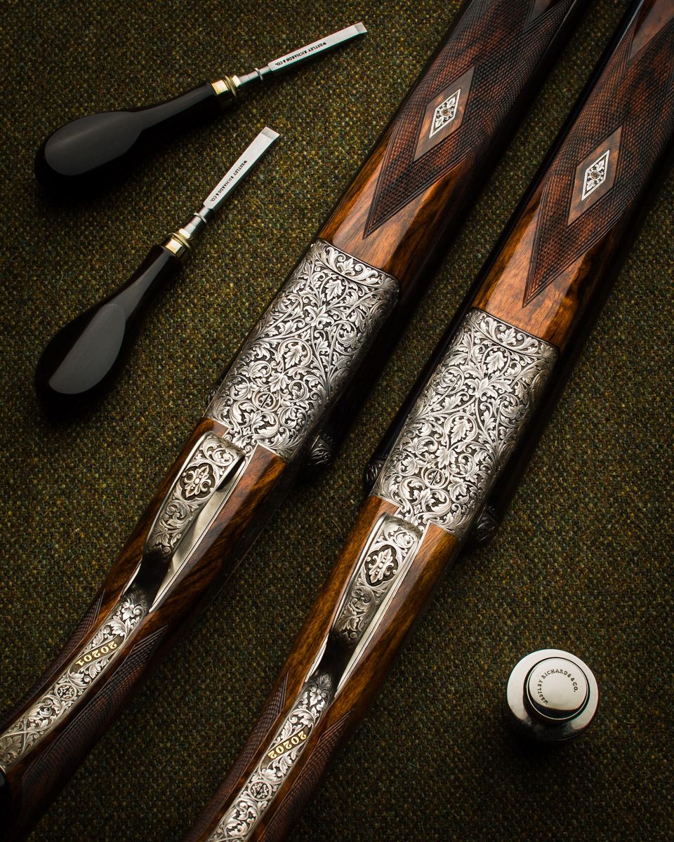 WR 12g Round Action Sidelock Pair 2