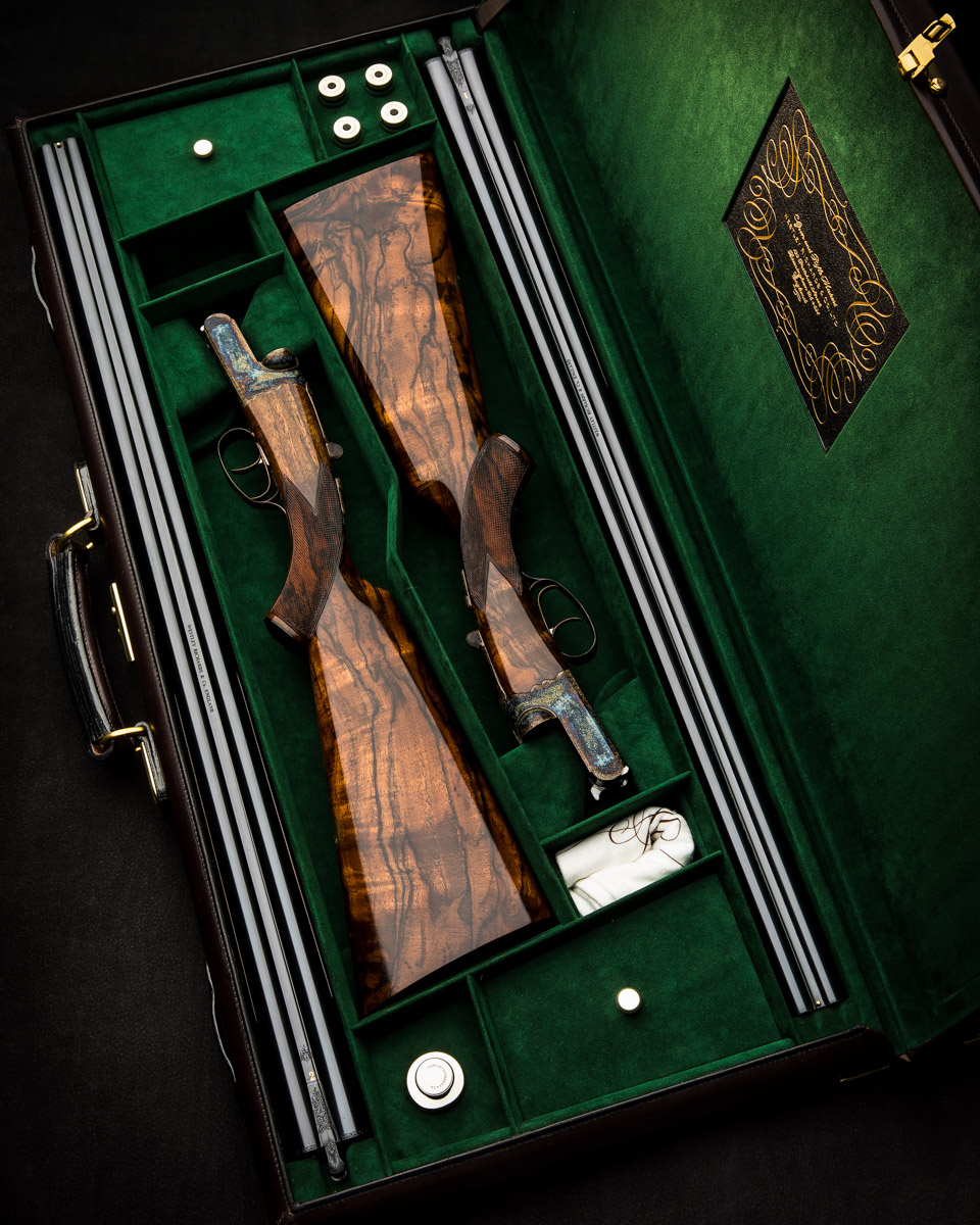 Westley Richards Pair 16g Hand Detachable Lock Shotguns