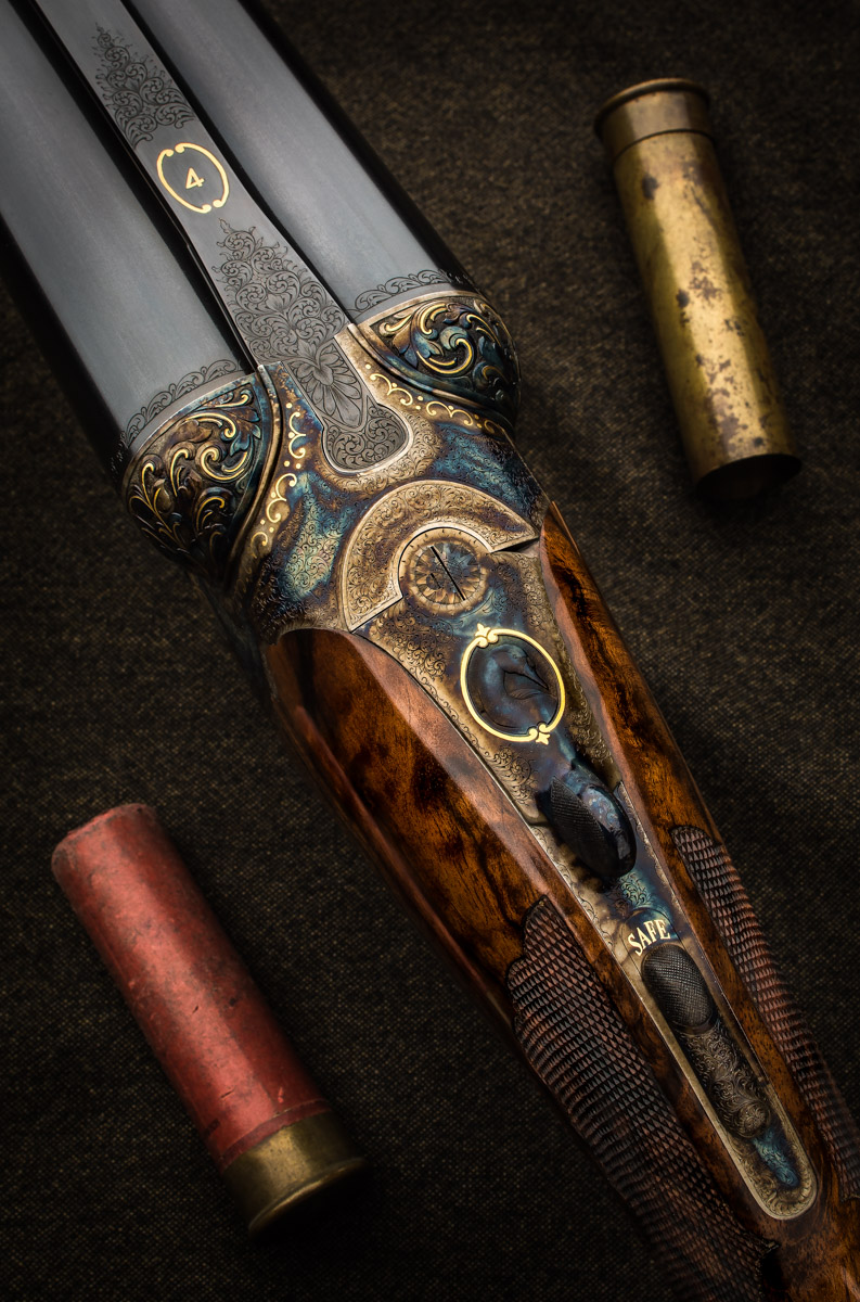 WR 4bore droplock shotgun2
