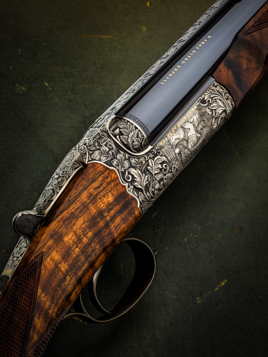 Westley Richards 'Roe Buck' Hand Detachable Lock Double Rifle